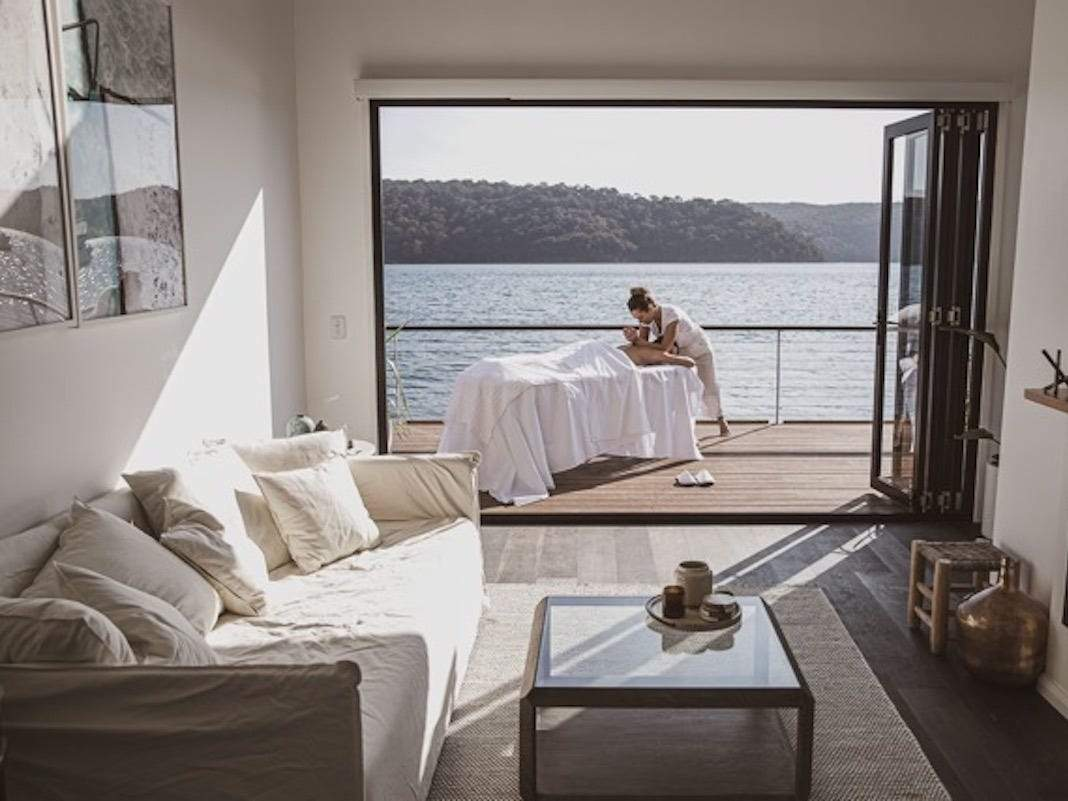 but with doors open out to the deck itaposs a way to enjoy the water and quoteliminate the pitfalls of the traditional boating experience whilst amplifying the restquotaccording to designer anderson