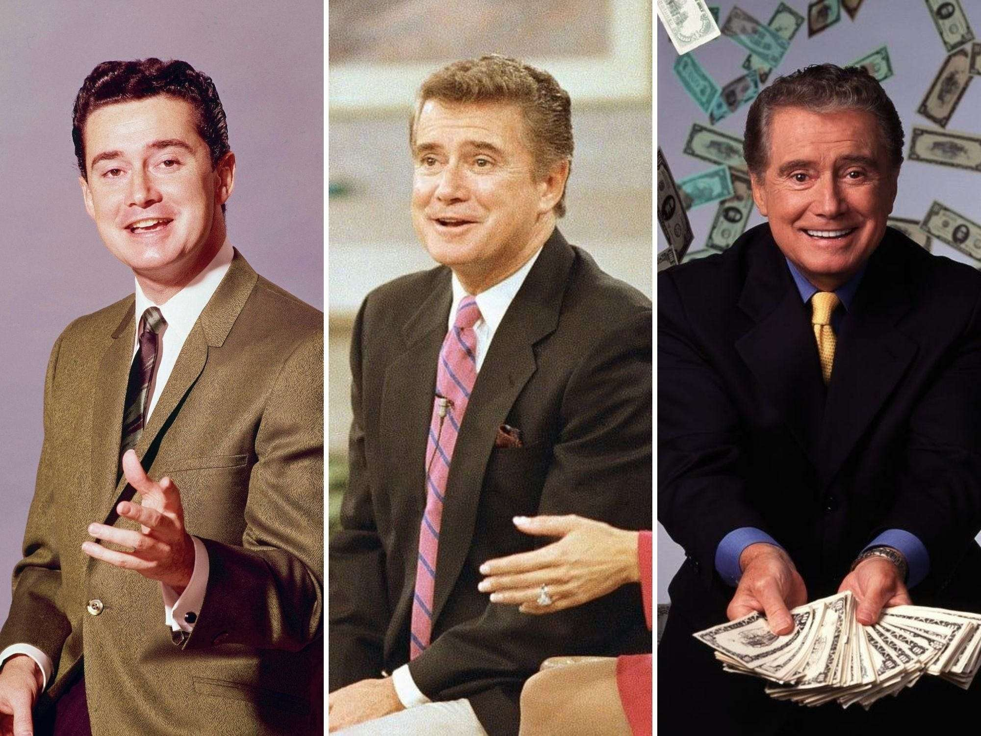 Photos show Regis Philbin's extraordinary life and career - Insider
