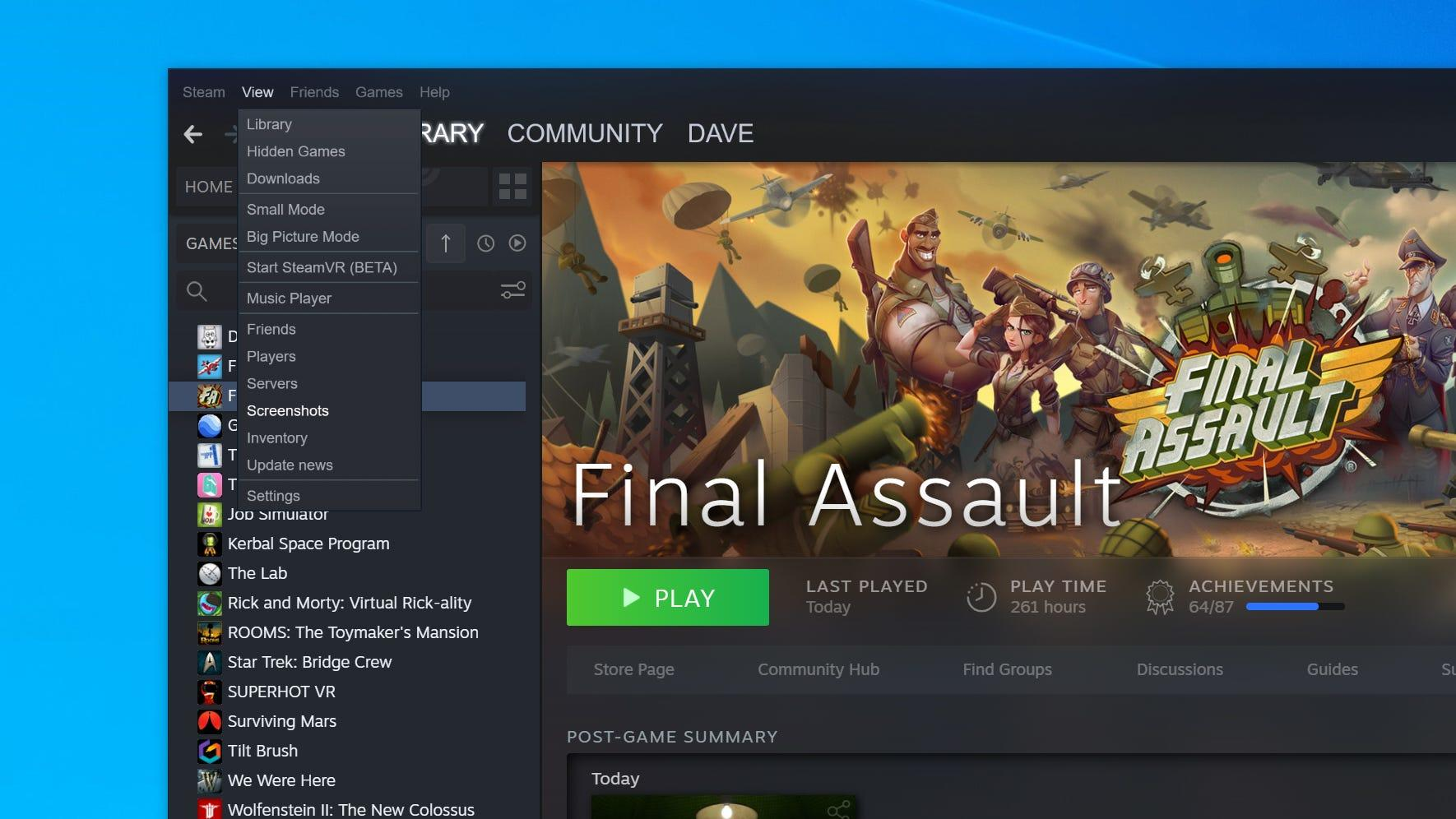 Where Are Steam Screenshots Saved How To Find You Screen Grabs On The Steam Gaming App Or Your Hard Drive Business Insider India