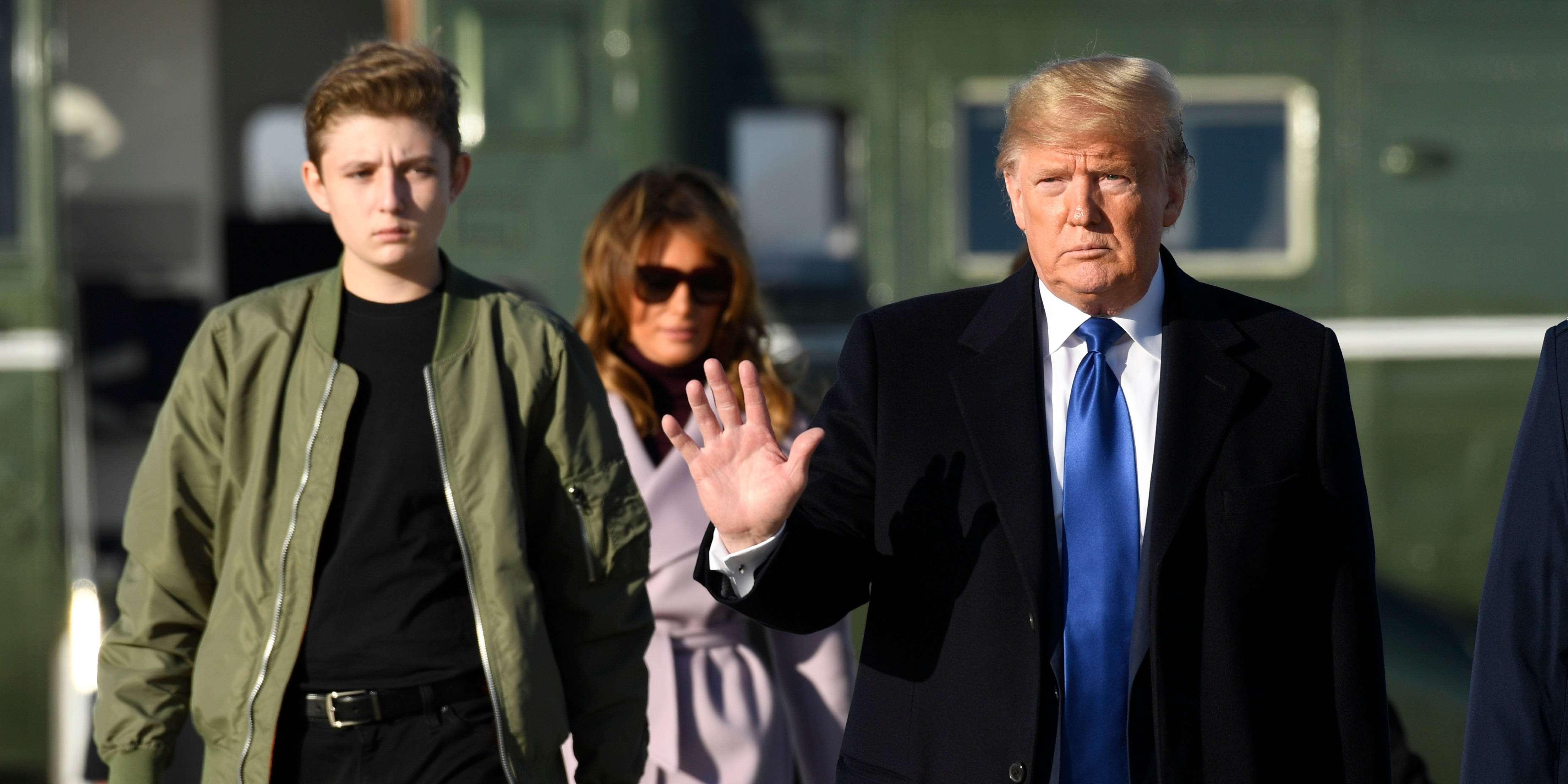 Barron Trump S School Won T Open For In Person Classes Business Insider