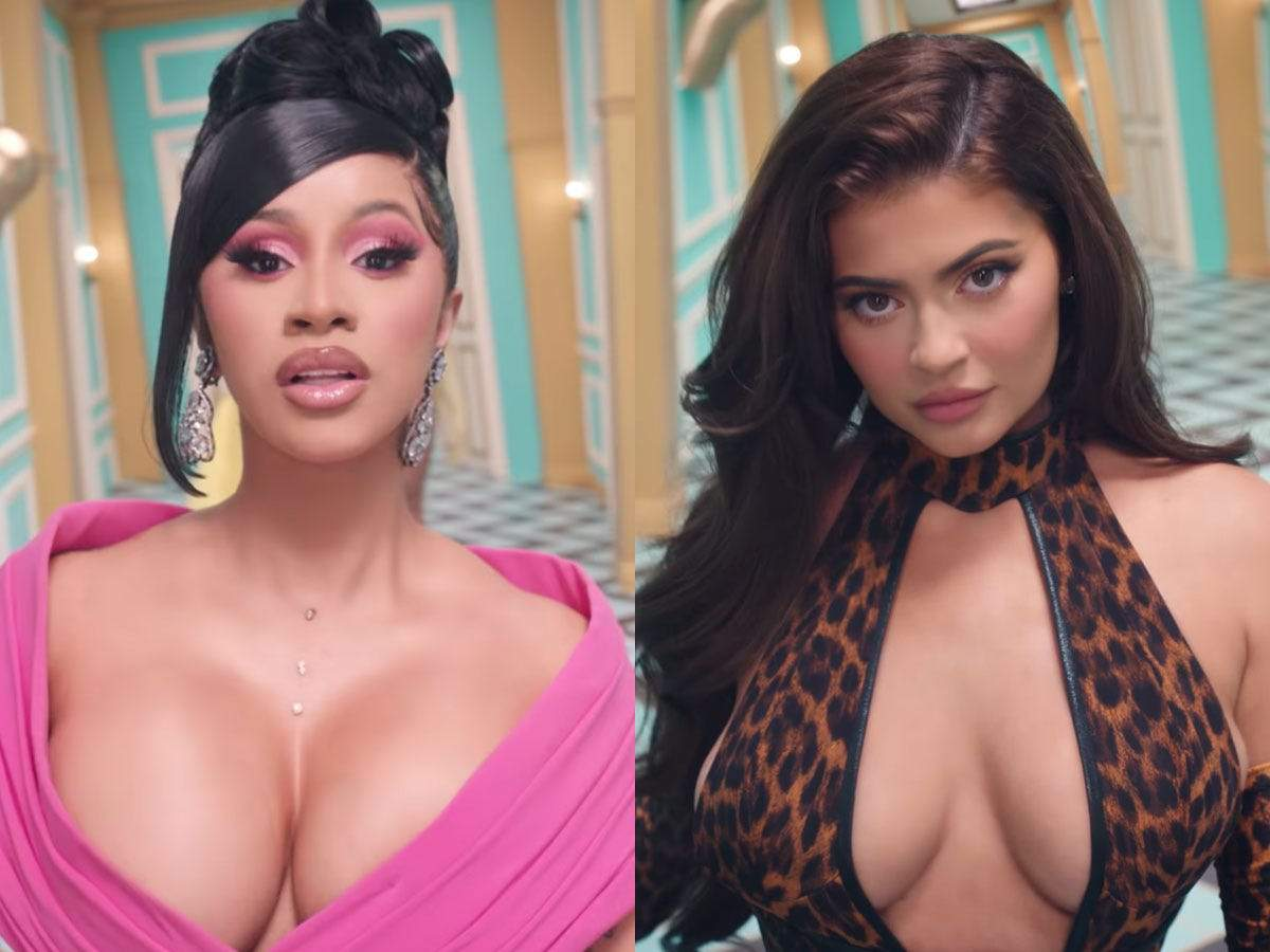 Cardi B Defends Kylie Jenner S Cameo In The Wap Music Video