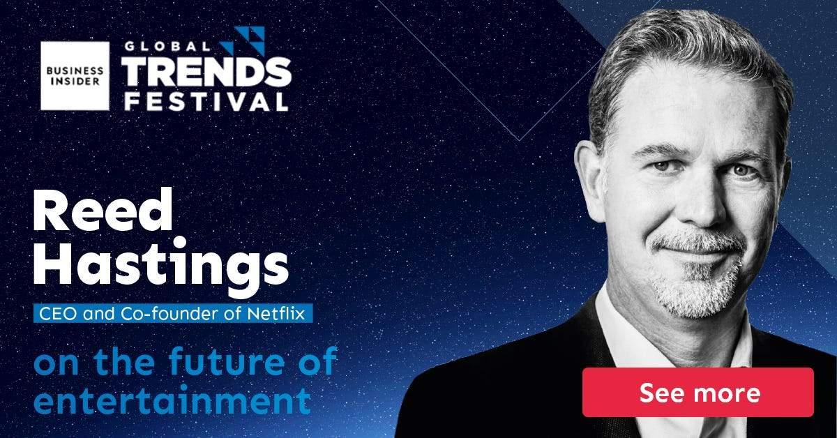 Announcing BI Global Trends Festival 2020 speakers: Don't miss Reed Hastings, Carlos Watson, Nouriel Roubini, Jennifer Jordan, and more!