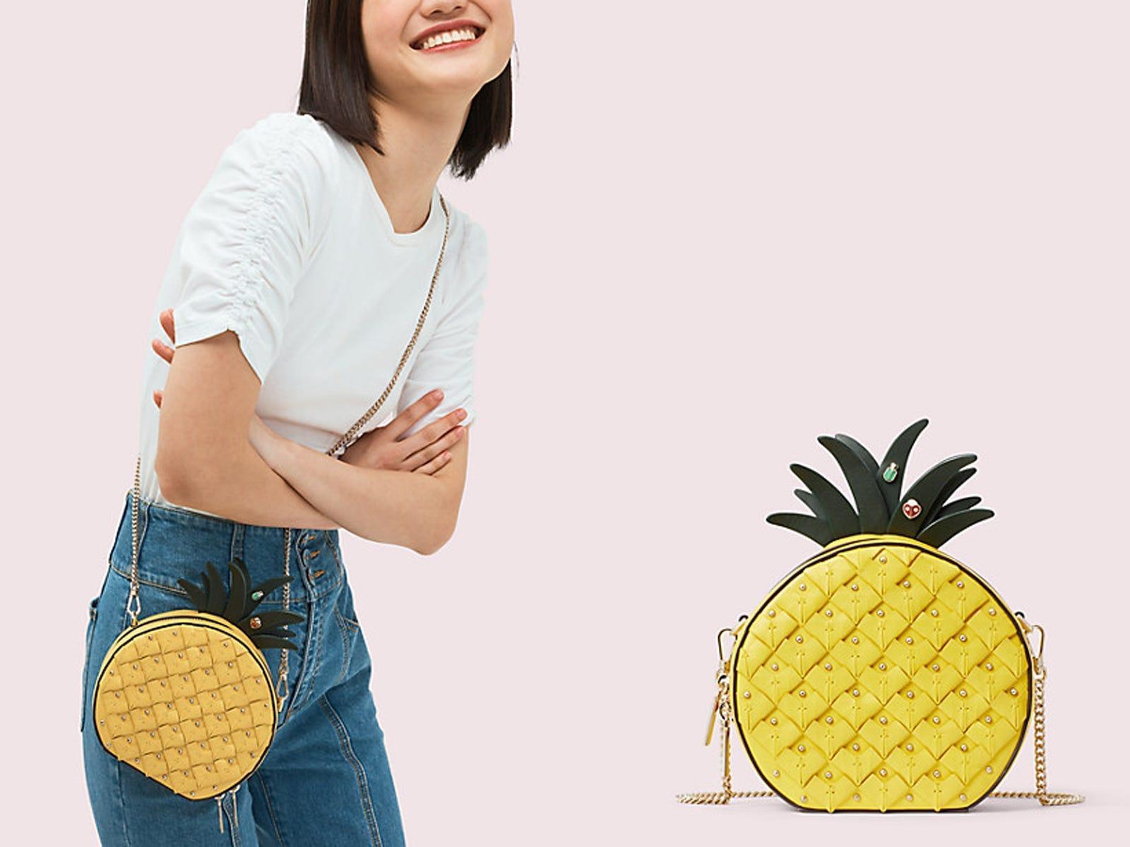 10 litres When Life Hands You Pineapples Make Pina Colada Tote Shopping Gym Beach Bag 42cm x38cm