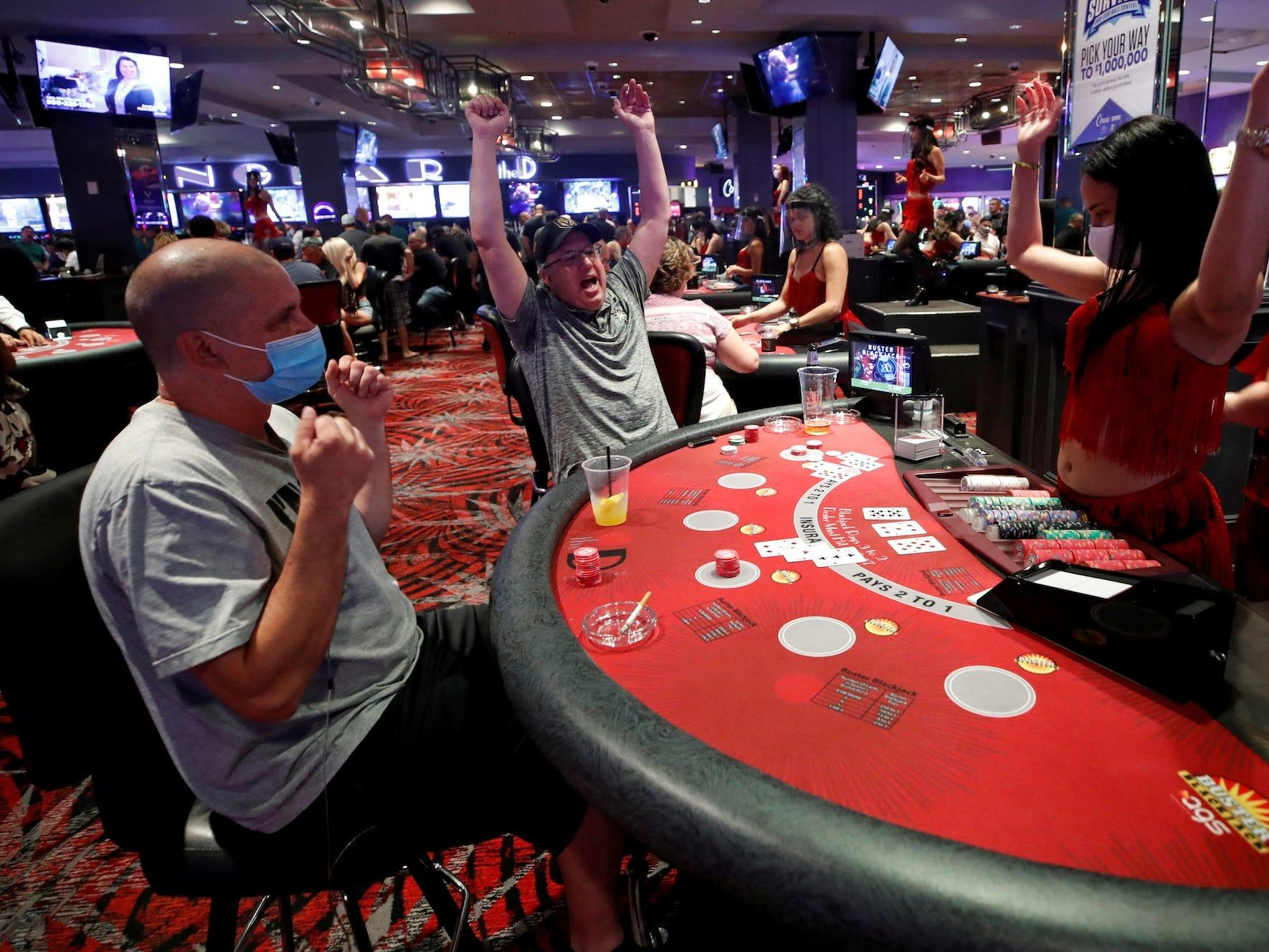 Online poker, casino games businesses triple as casinos close