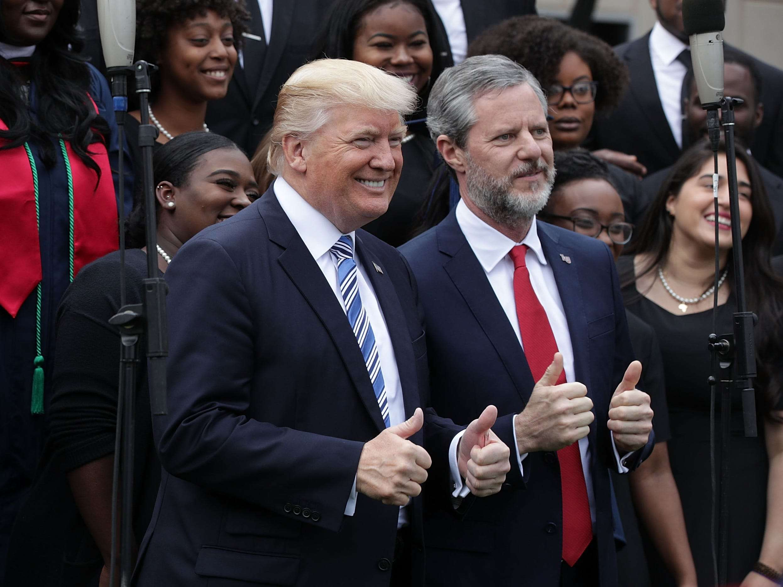 Michael Cohen negotiated with pool boy to stop Falwell