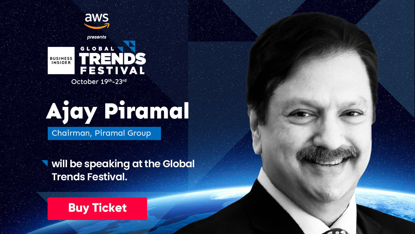 Don't miss Ajay Piramal, a master deal maker with business in 30 countries, at the Global Trends Festival 2020
