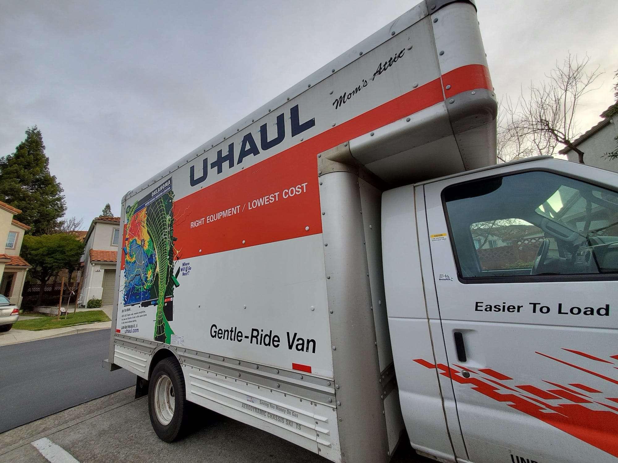 Uhaul truck rental near me open now