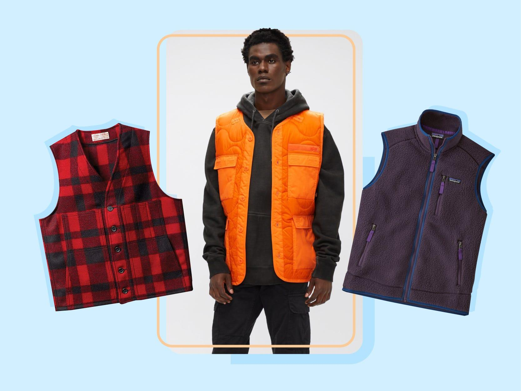 The 13 best men's vests to wear in the office or on the weekends - Insider