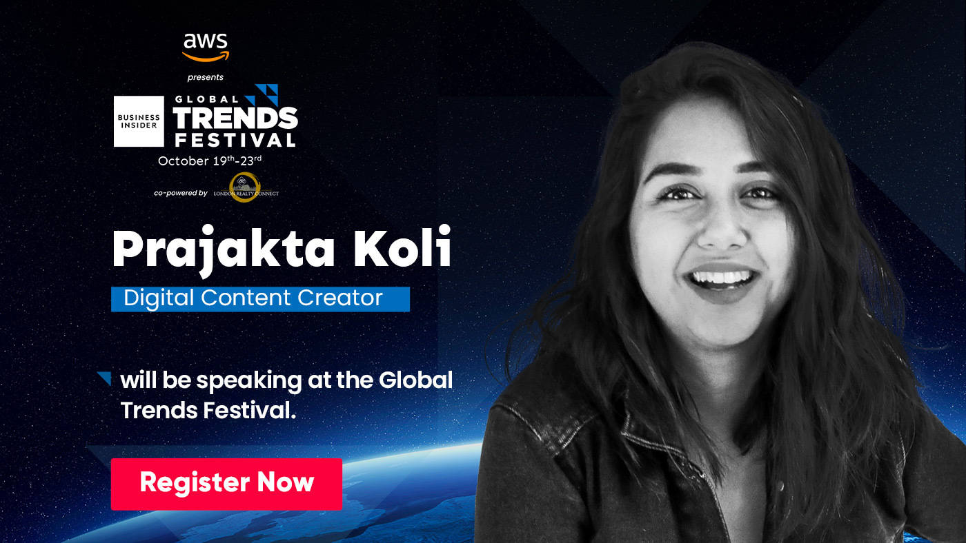 Watch out for Prajakta Koli, the social media queen at the Global Trends Festival 2020