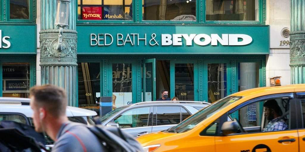 Bed Bath & Beyond extends its 462% rally after sale of Christmas Tree Shops for $250 million ...