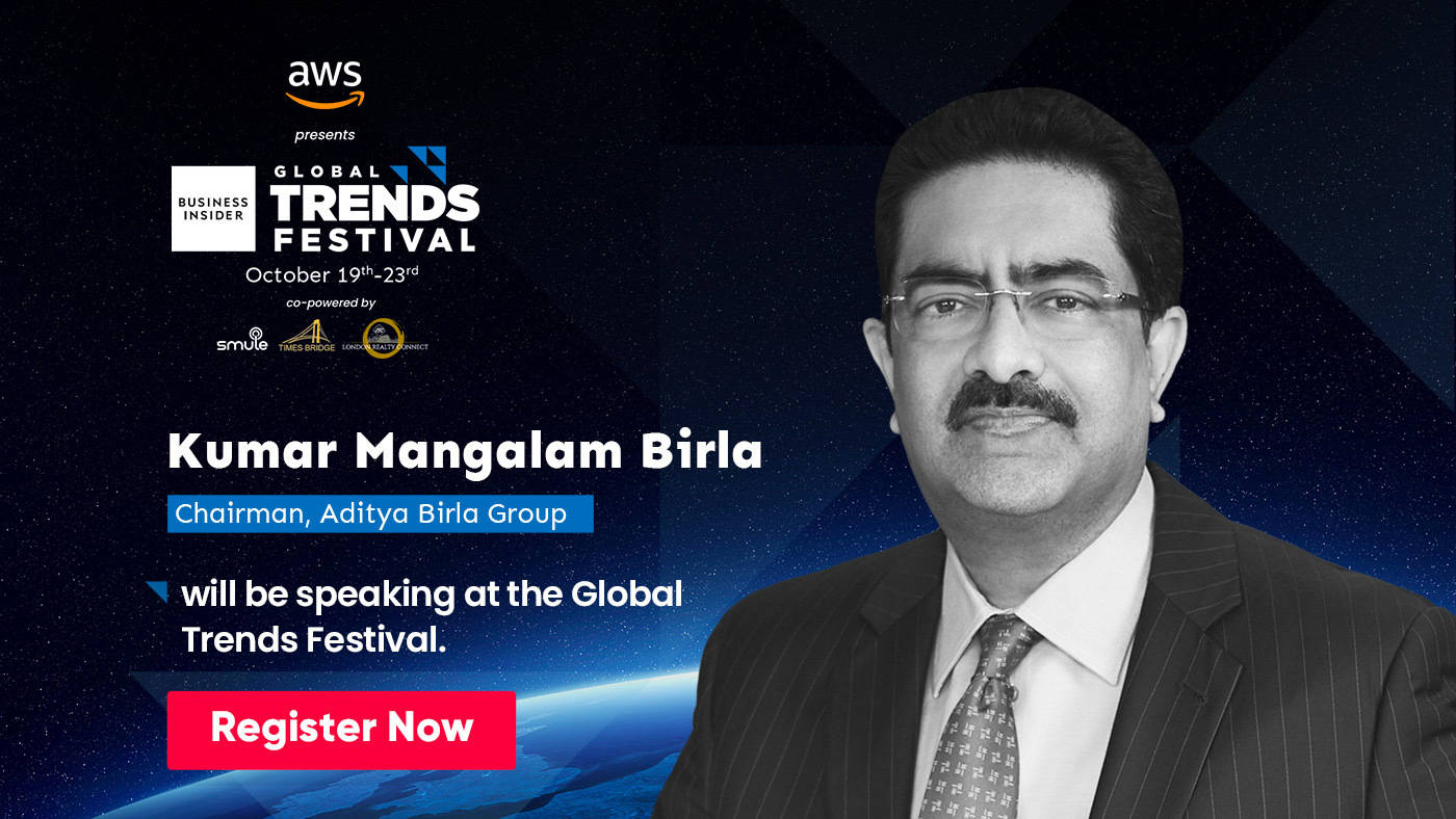 Kumar Mangalam Birla will share the secrets behind successful acquisitions at the Global Trends Festival 2020