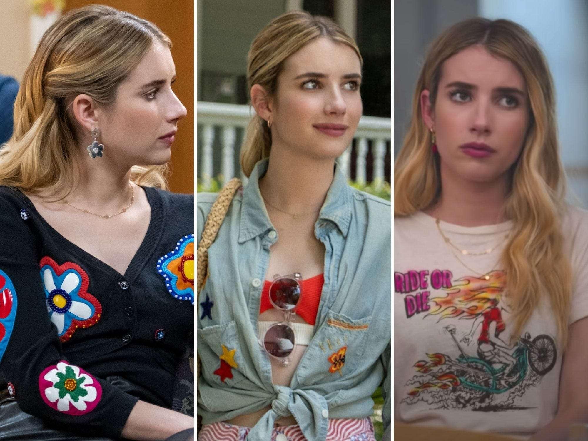 Behind Emma Roberts Fashion In Netflix S Holidate Insider