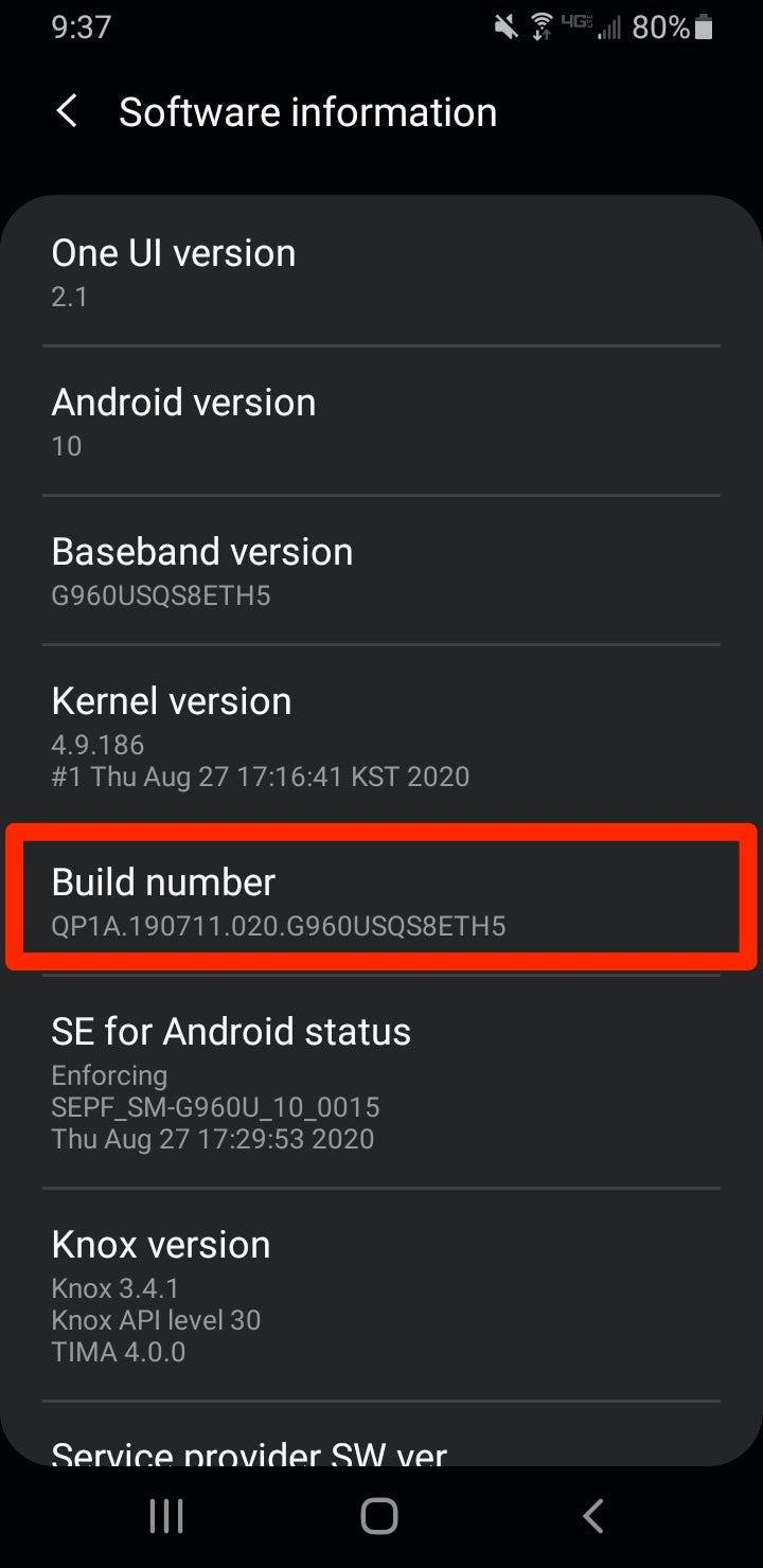 How to see a log of old notifications on an Android by enabling a feature on your device