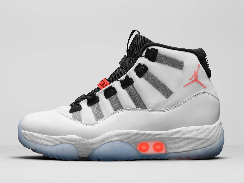 self-lacing Air Jordan 11