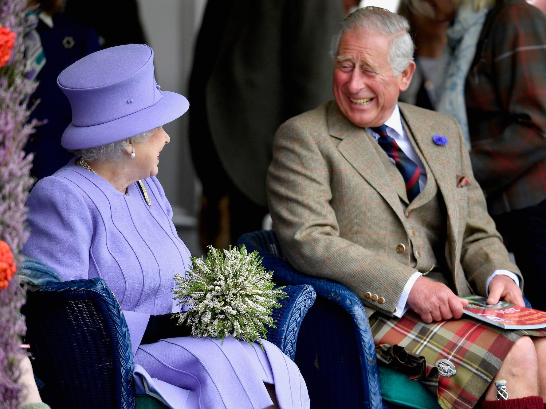 The Queen shared 2 photos of Prince Charles for his 72nd birthday, and it  shows how their relationship has evolved through the years   Business  Insider India