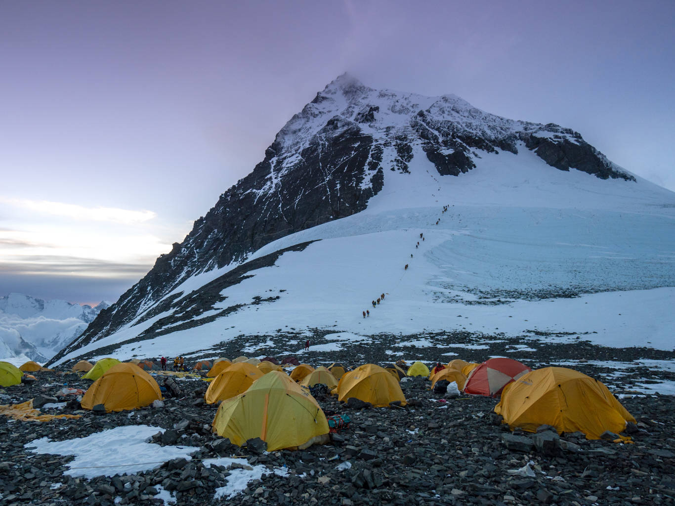 Microplastics found at the highest point on Earth as the glaciers around Mount Everest's the death zone melt