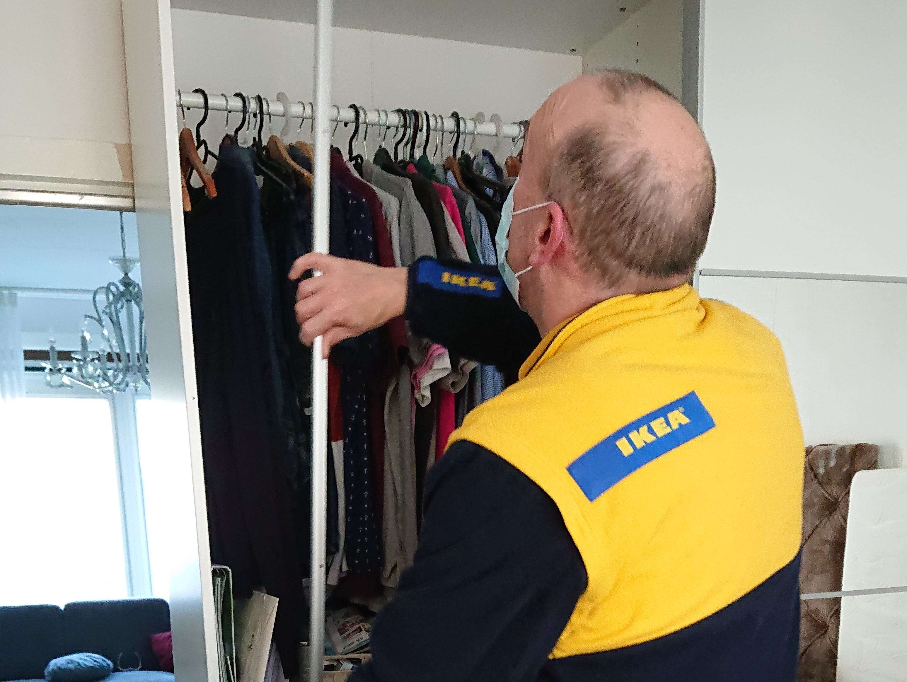 I'm a 45-year-old IKEA worker who travels to people's homes to help them build their furniture. I love my job — this is what it's like.