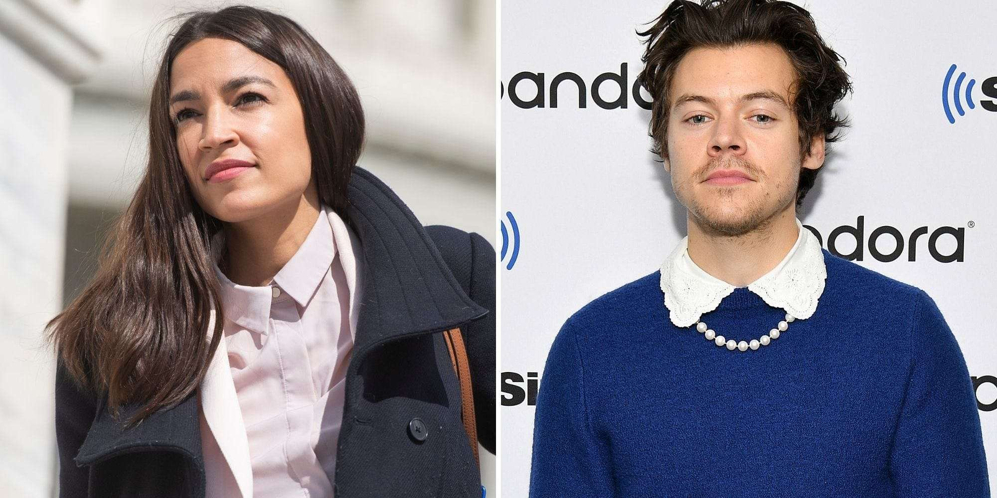 Alexandria Ocasio Cortez Defends Harry Styles Vogue Cover