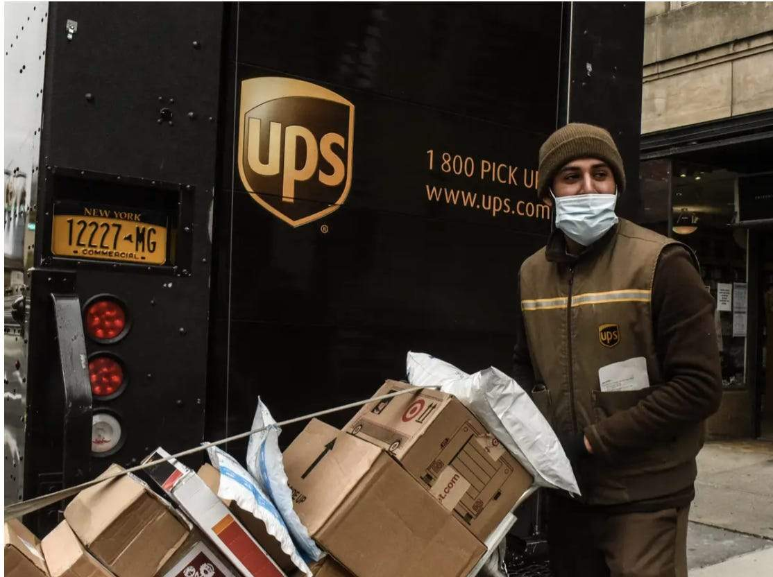 Porcentaje Ups Complejo  UPS tells drivers to stop picking up packages from 6 major retailers -  Business Insider