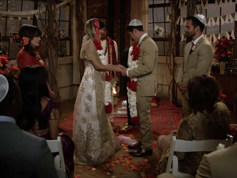 Schmidt et Cece ont eu le mariage pandémique idéal sur 'New Girl'