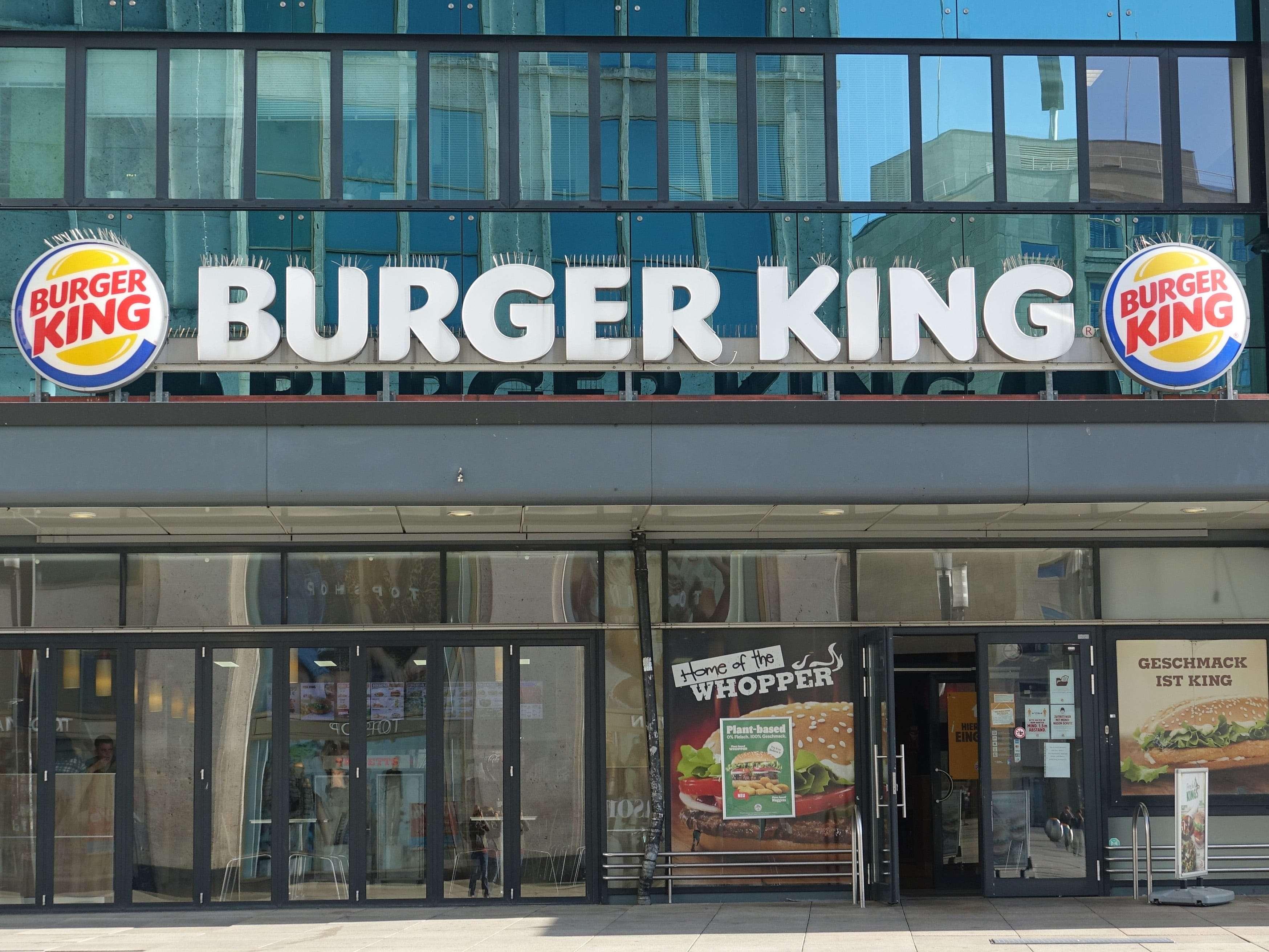 Burger King To Promote Independent Restaurants On Uk Instagram Business Insider