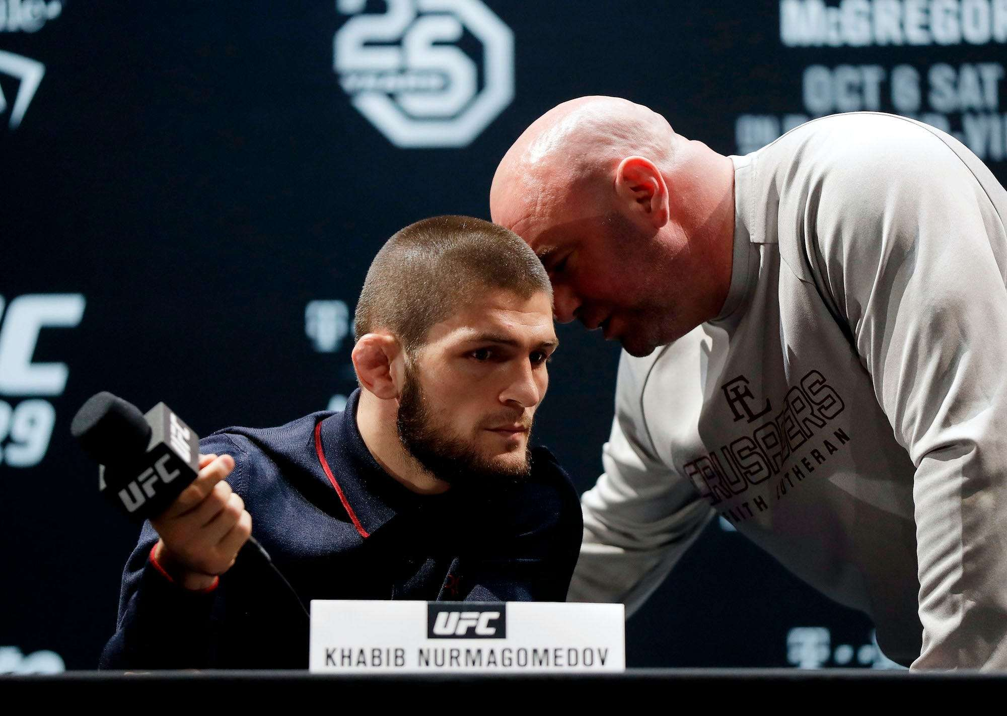 Ufc Boss Dana White Says He Ll Push Khabib Nurmagomedov To Break His Retirement And Fight Again Business Insider India