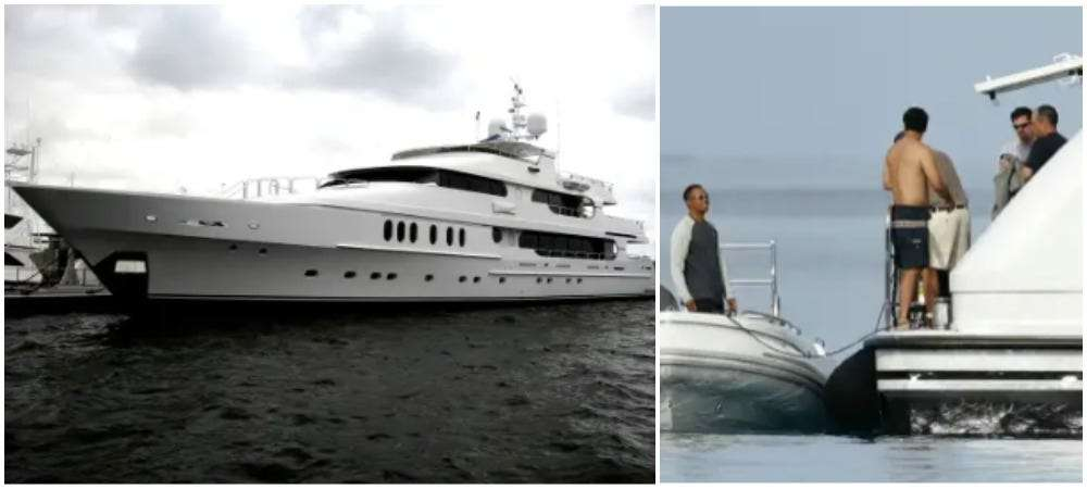 Conor McGregor proved he's the UFC's version of Tiger Woods by chartering a yacht to Fight Island