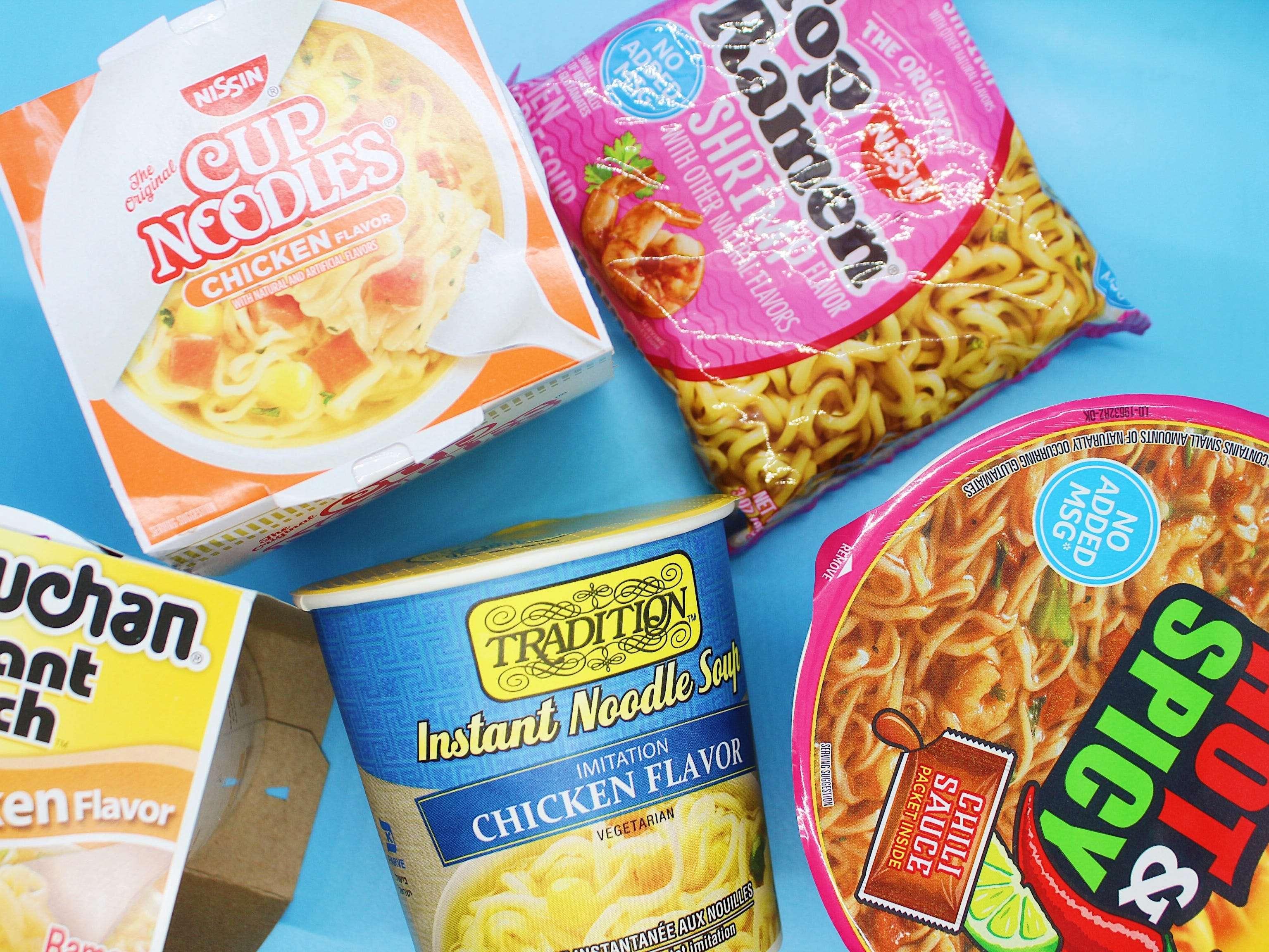 Best Store Bought Instant Ramen Noodles Ranked
