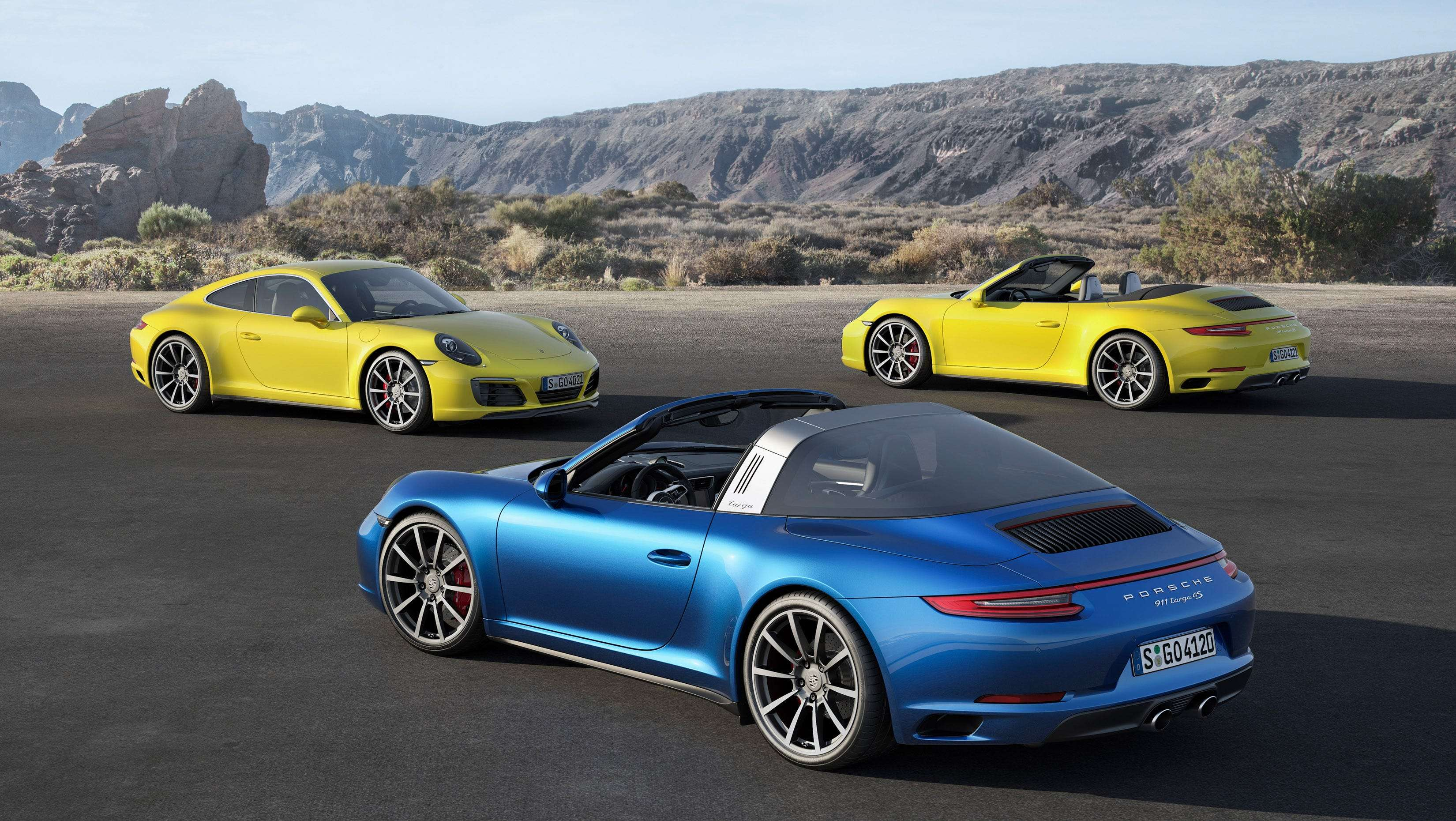 Porsche Orders Stop Sale On Certain Cars For Excess Emissions