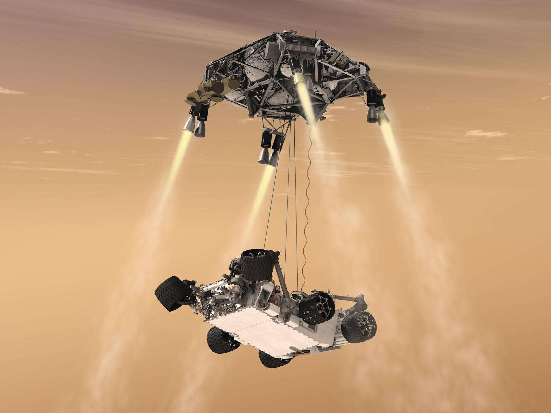 NASA's Perseverance rover is about to attempt a supersonic plunge to Mars, complete with a jetpack landing