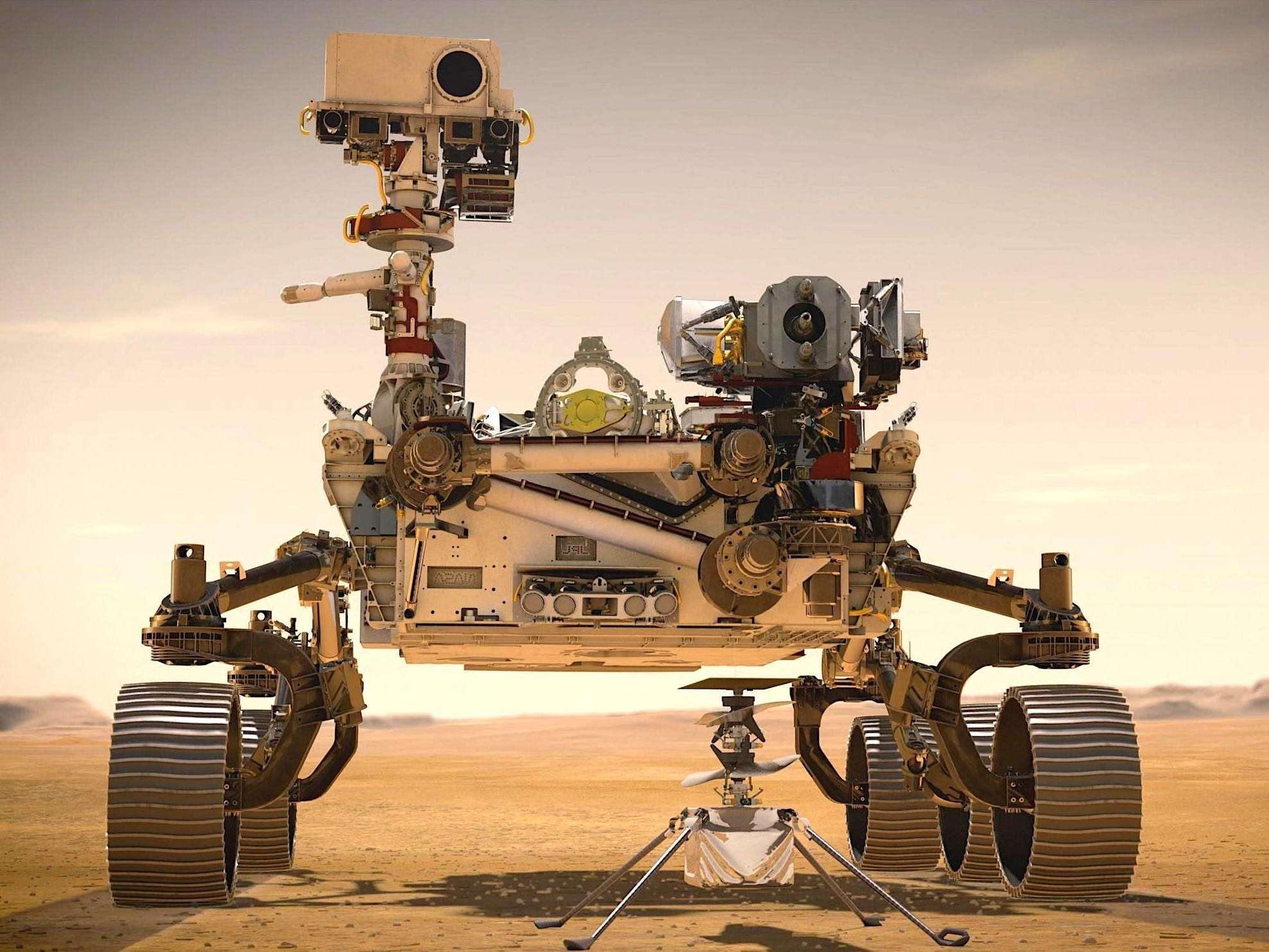 NASA's Perseverance rover is about to attempt a supersonic plunge to Mars, complete with a jetpack landing - Business Insider India