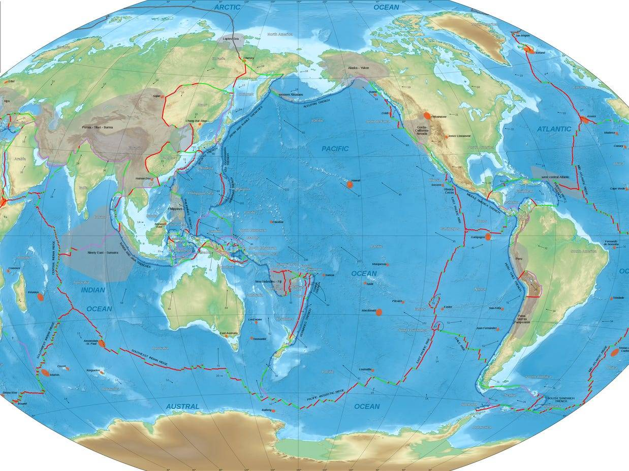 Watch the last billion years of Earth's tectonic plate movement in just 40 seconds - Business Insider India