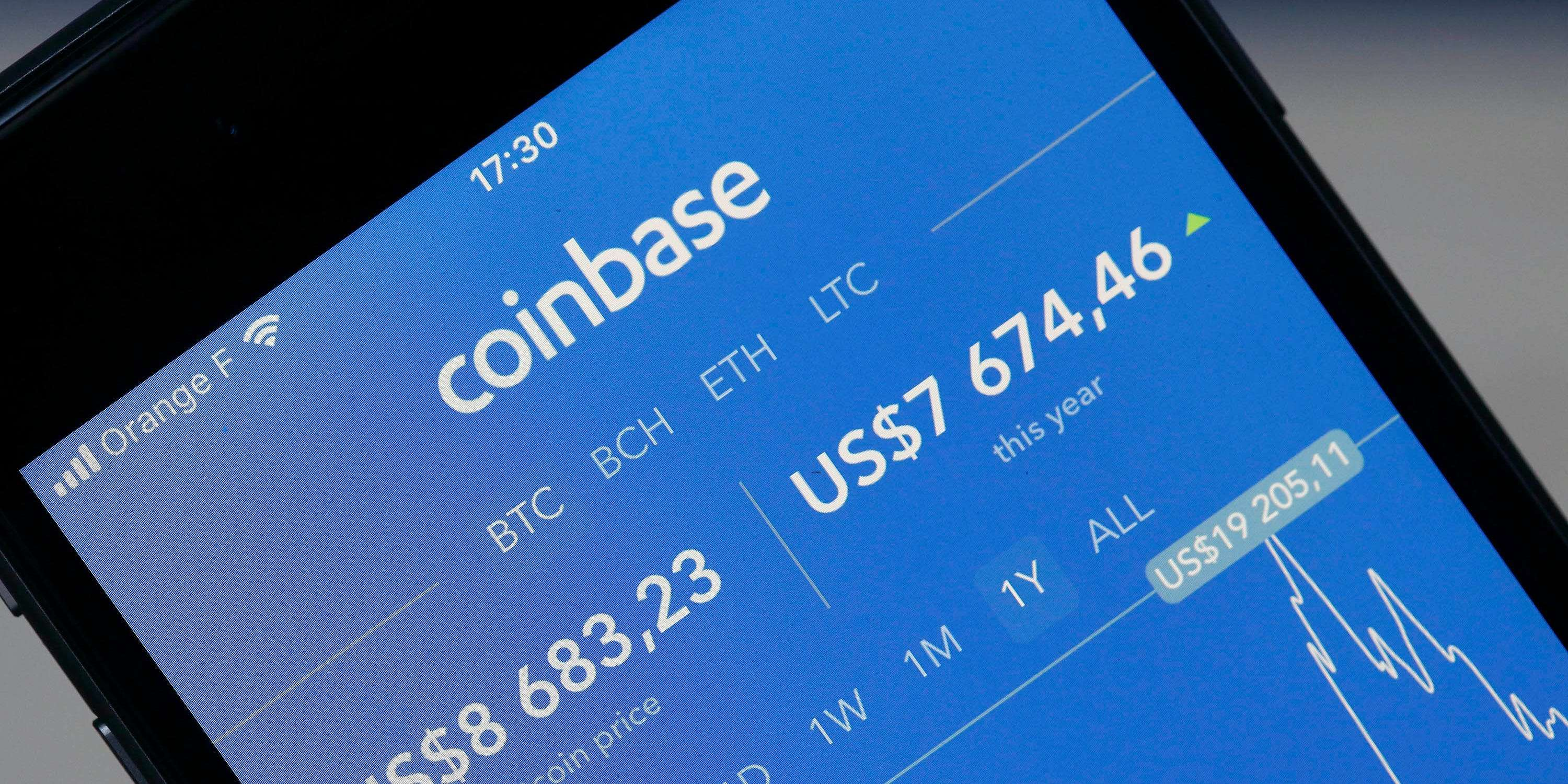 Cryptocurrency exchange Coinbase files to go public in a direct listing on  Nasdaq | Currency News | Financial and Business News | Markets Insider