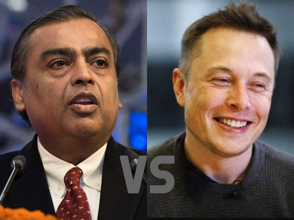 Elon Musk is facing a challenge from Asia's richest man Mukesh Ambani in India— both in energy and transporta - Business Insider India