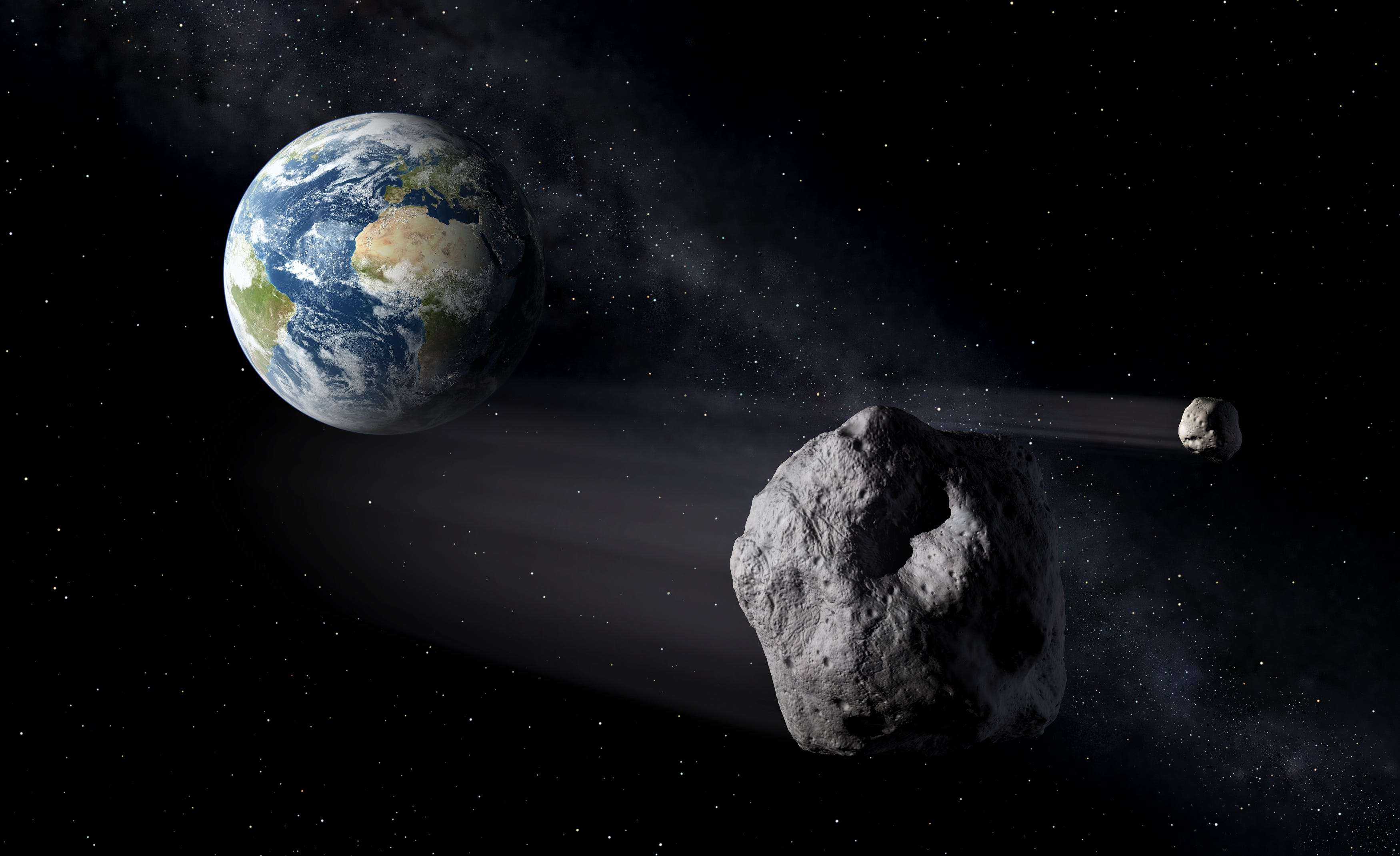 An Eiffel Tower-sized asteroid is about to whiz by Earth. When it returns in 8 years, it could cross paths wit - Business Insider India