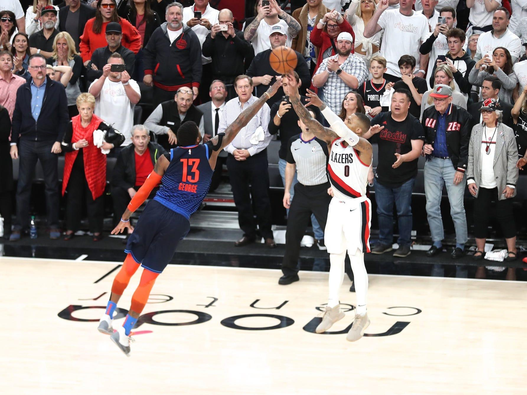 www.businessinsider.in: Paul George admits he was wrong about Damian Lillard's iconic playoff shot after remarkable NBA All-Star performance