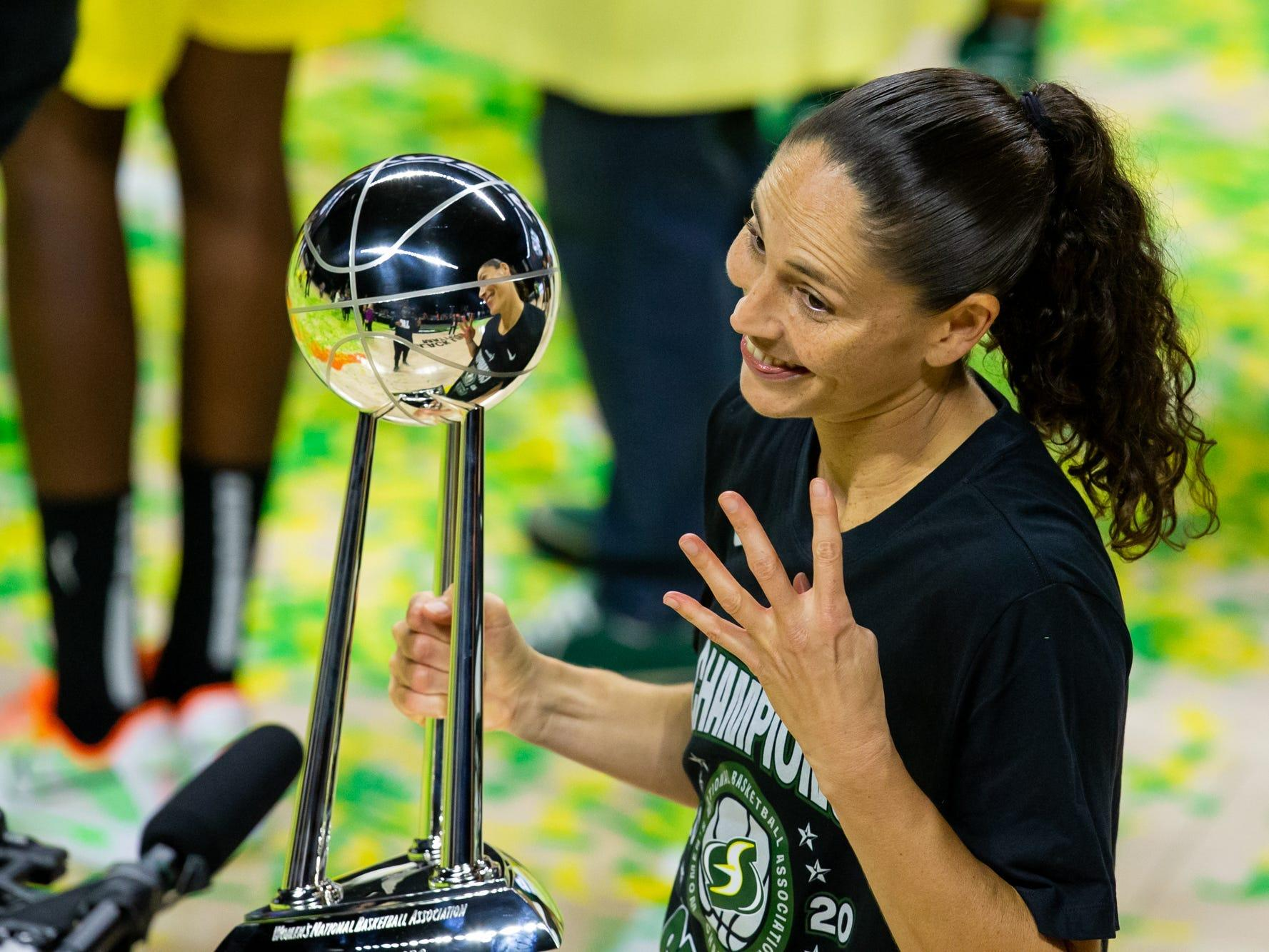Sue Bird converted frustration with 'insanely, almost unbelievably low' women's sports coverage into new media platform