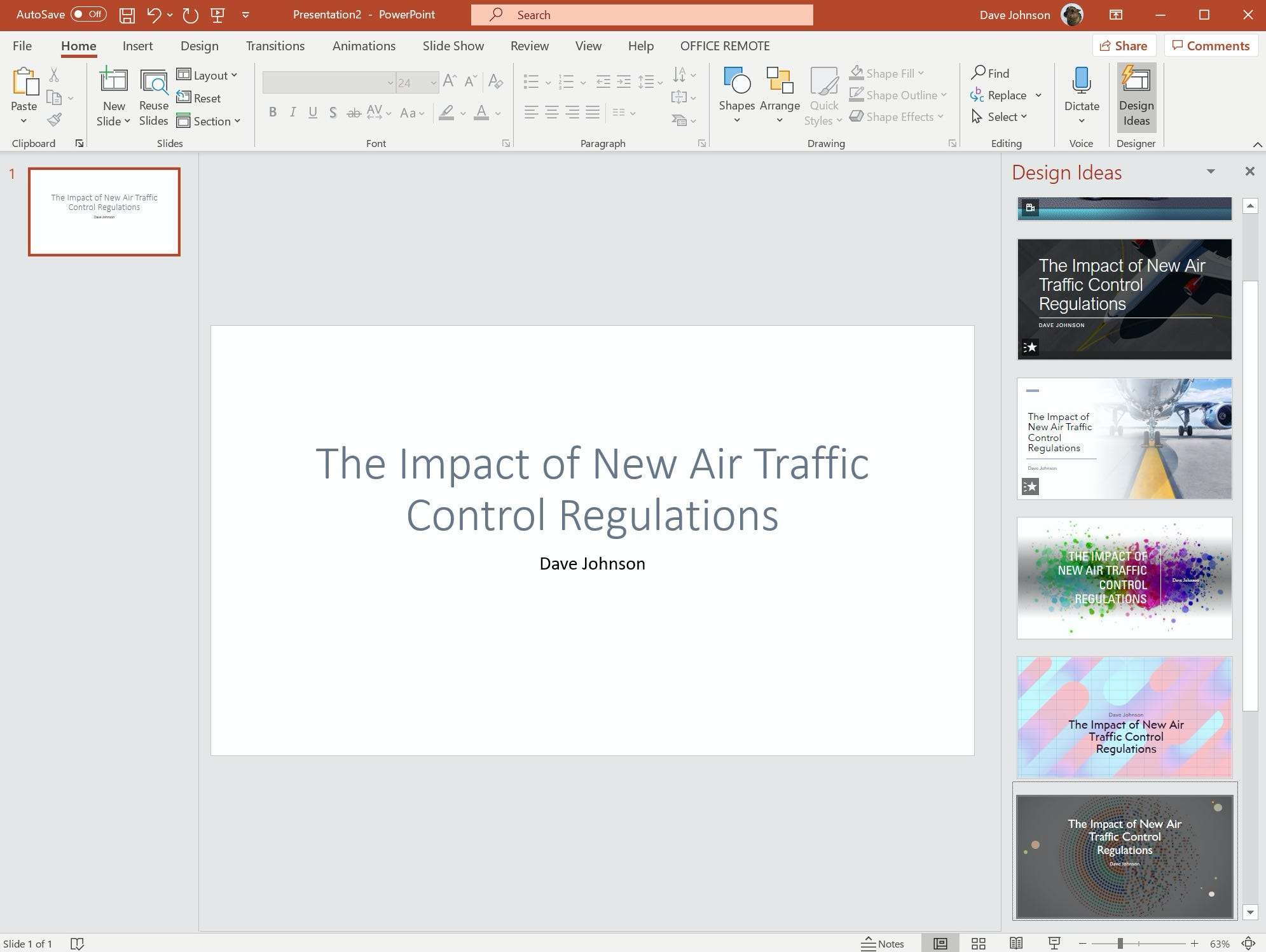 How to use PowerPoint Designer to create professionally designed slideshow presentations
