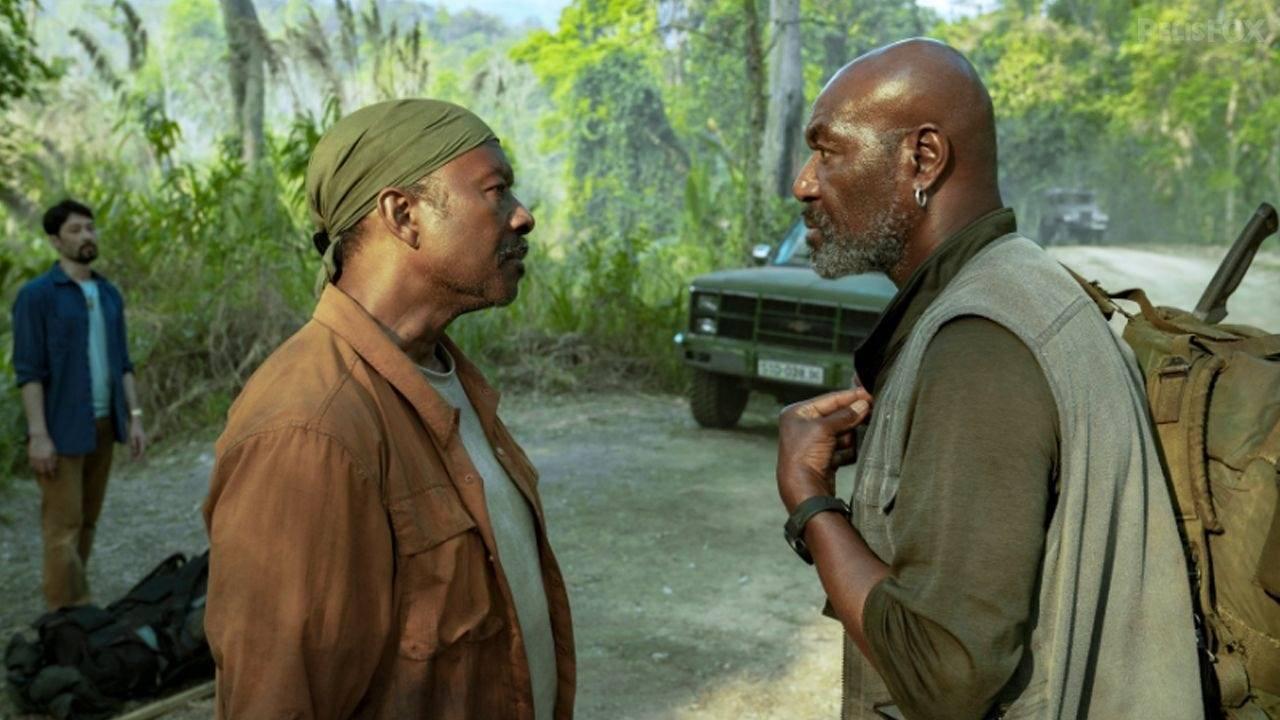 Clark Peters nói đóng vai chính trong một bộ phim