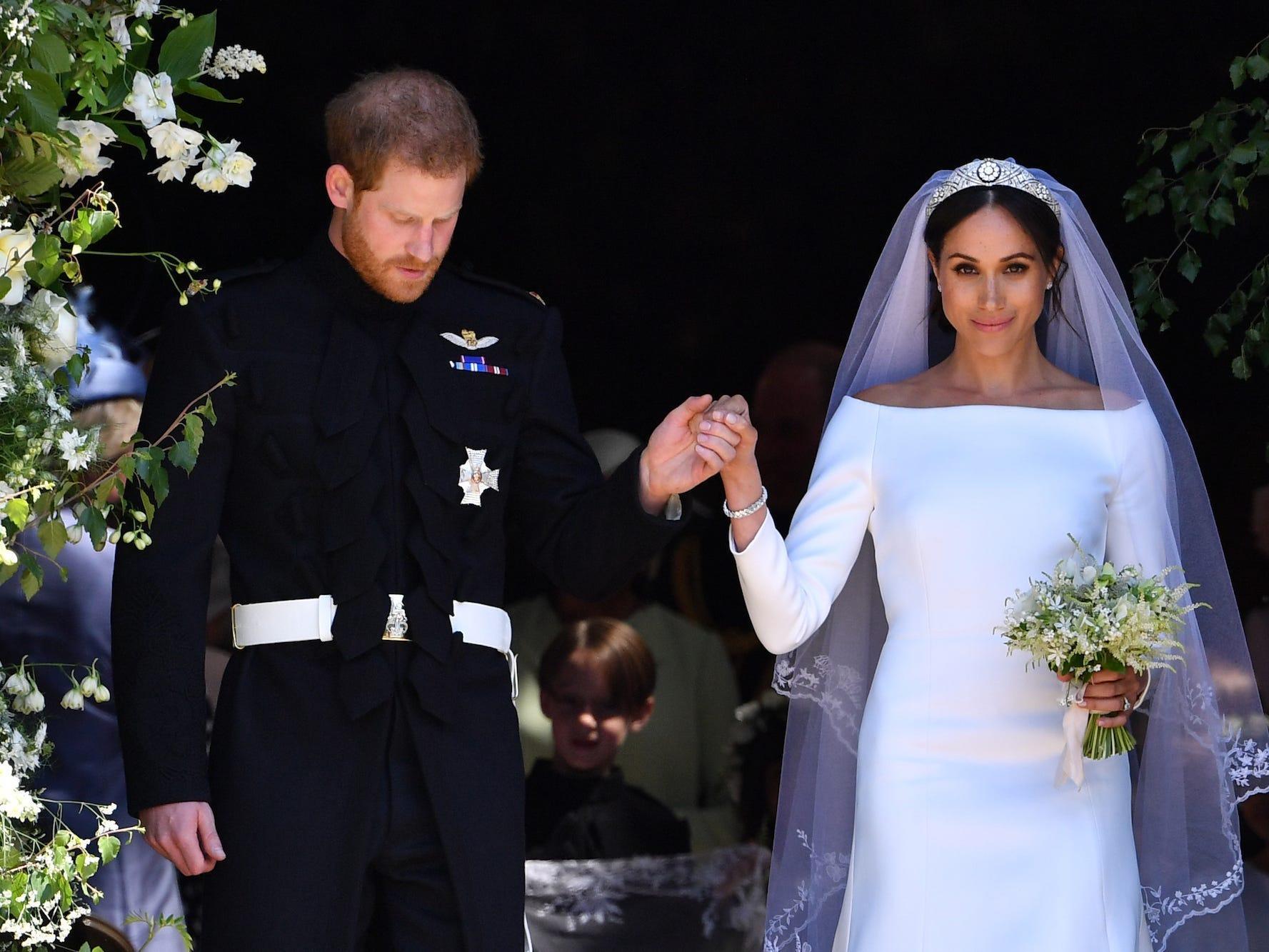 Kate Middleton and Meghan Markle's wedding dressmaker says ...