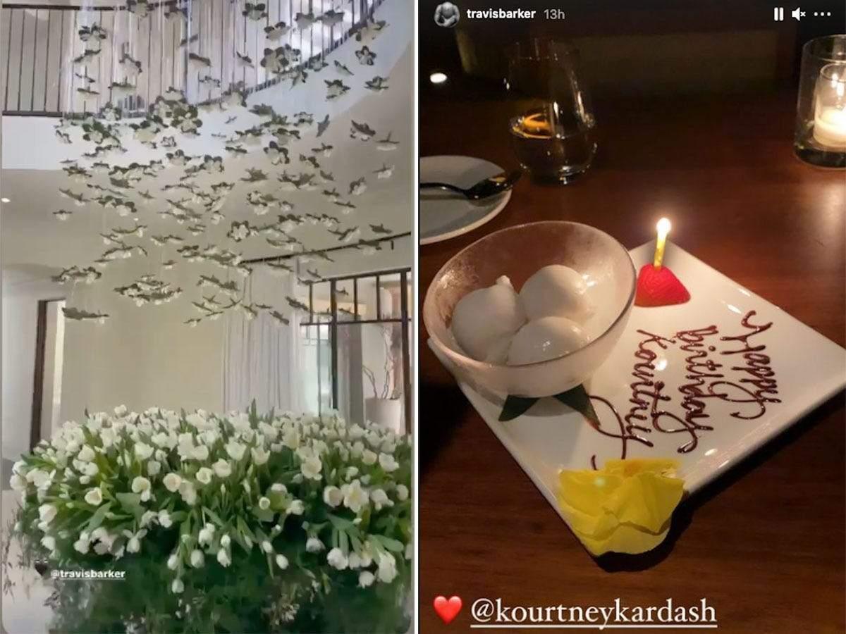 Travis Barker said Kourtney Kardashian was a 'blessing' in an Instagram post for her birthday