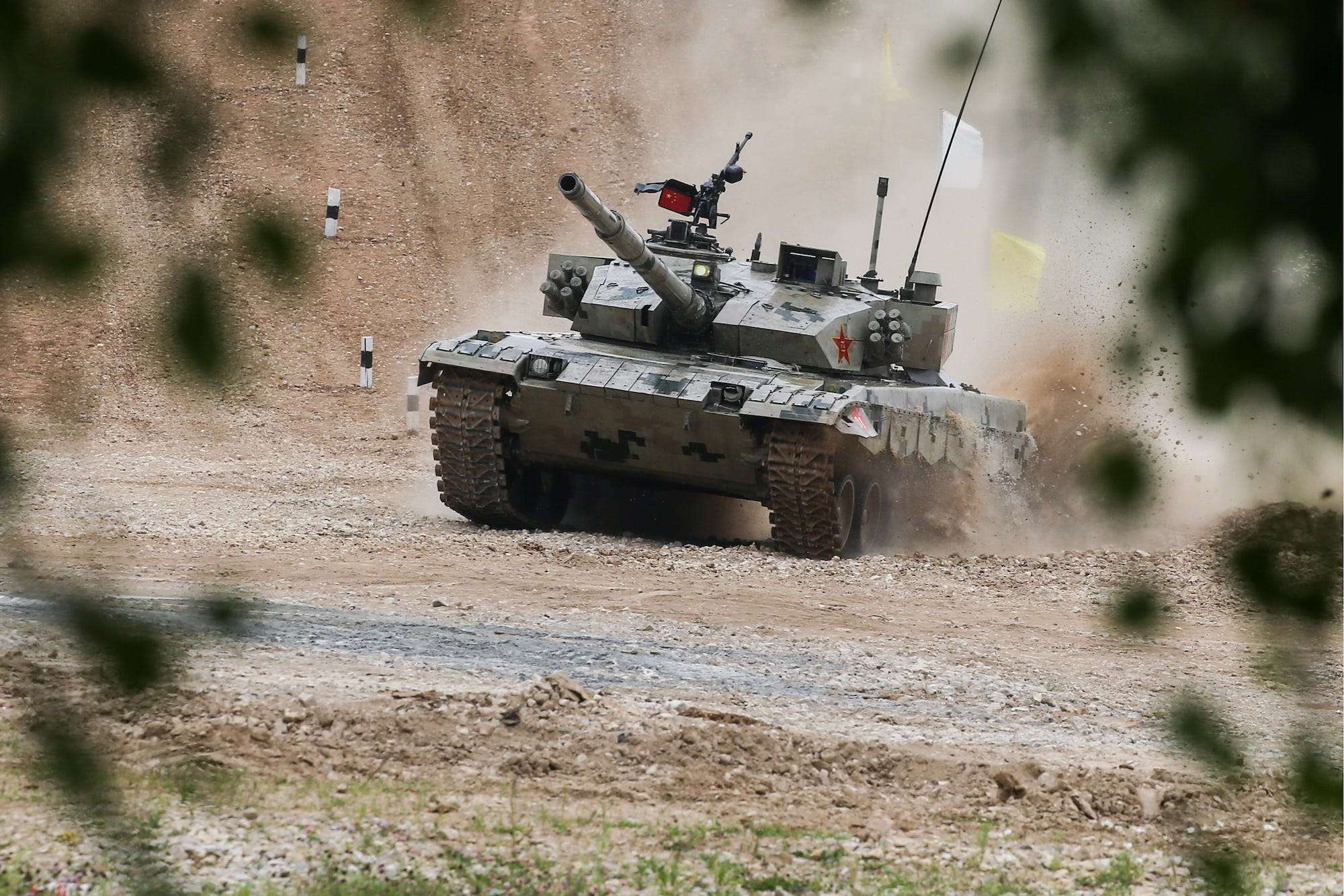 Photos of tanks and armored vehicles in the Himalayas show that China and India's next border showdown could be much deadlier
