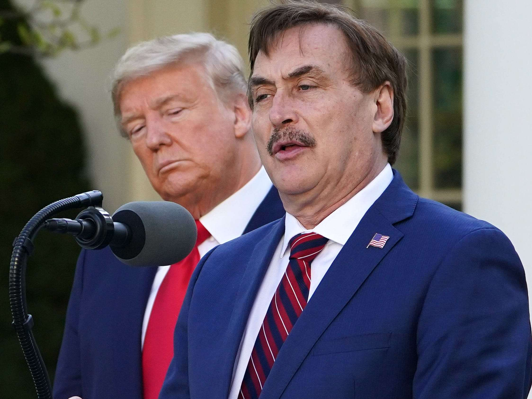 A judge ruled that MyPillow CEO Mike Lindell could keep his