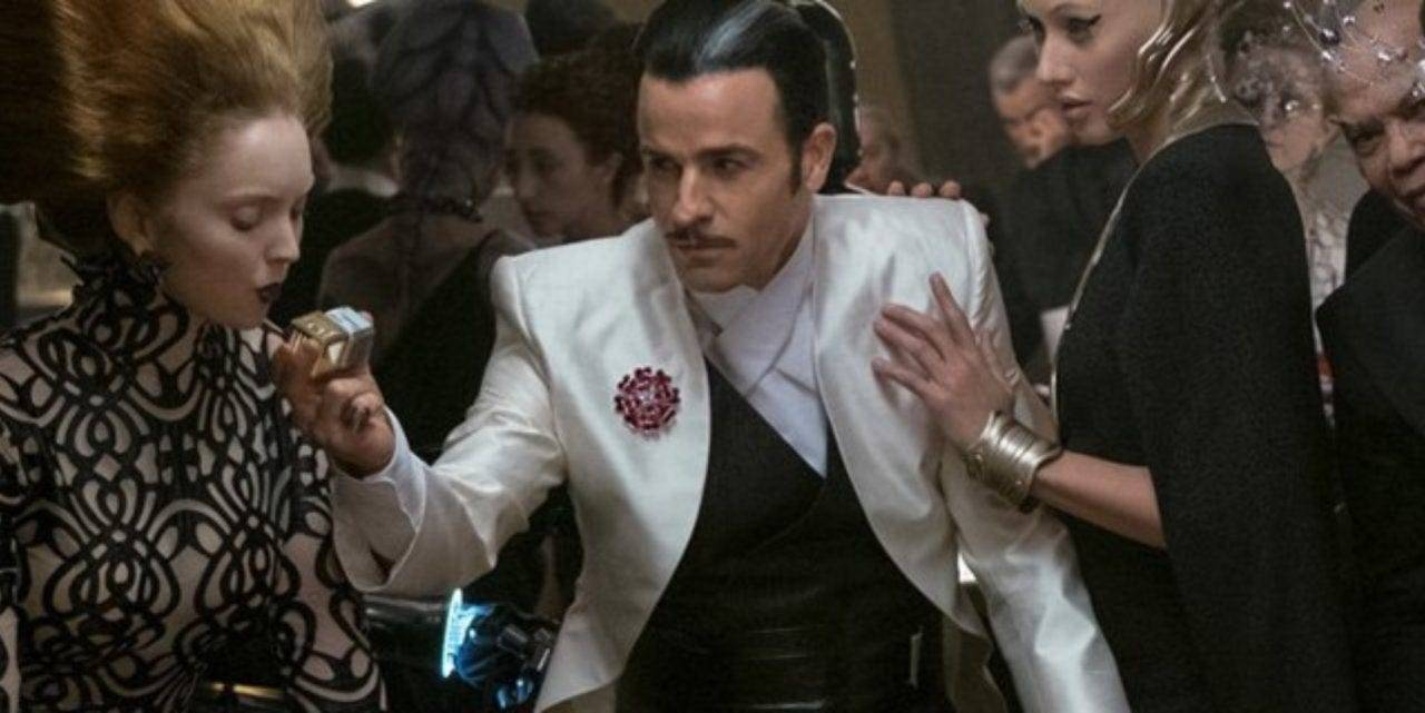18. Justin Theroux as Master Codebreaker in The Last Jedi.