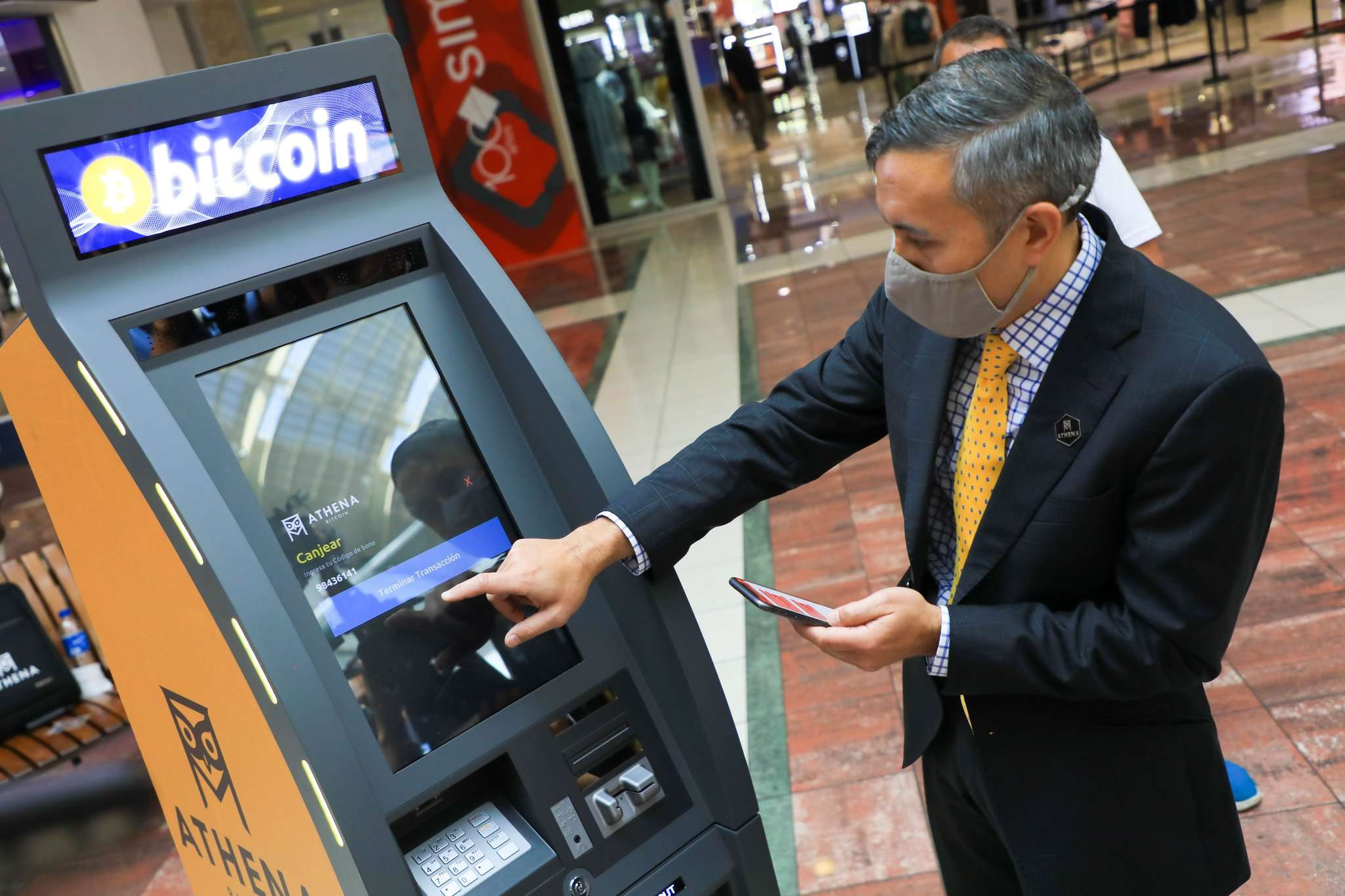 El Salvador is pushing for the use of Bitcoin with ATMs, digital wallets and free money — but participation is not 'mandatory'