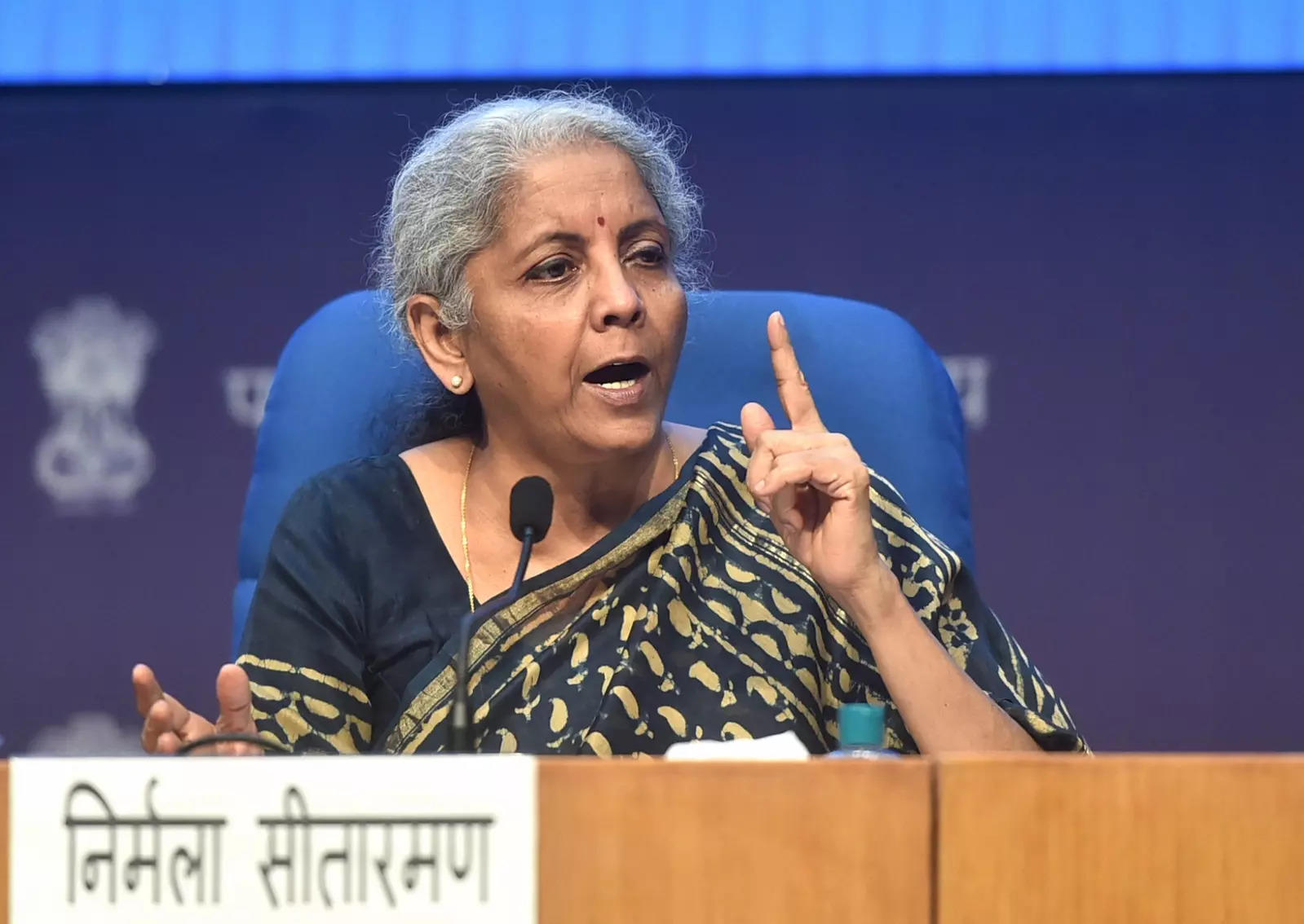 Finance Minister Nirmala Sitharaman announces over ₹1 trillion loan  guarantee scheme for COVID-19 affected sectors such as healthcare |  Business Insider India