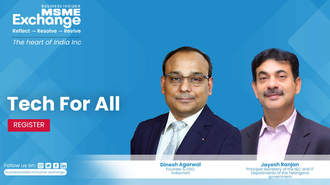 MSME Exchange 2021: Tech for all