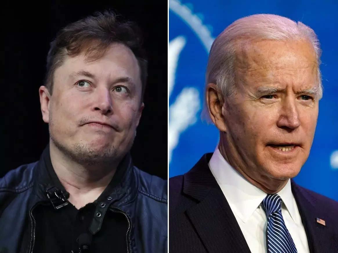Elon Musk mocked 'sleeping' Biden for not congratulating SpaceX's all-civilian crew - Business Insider India