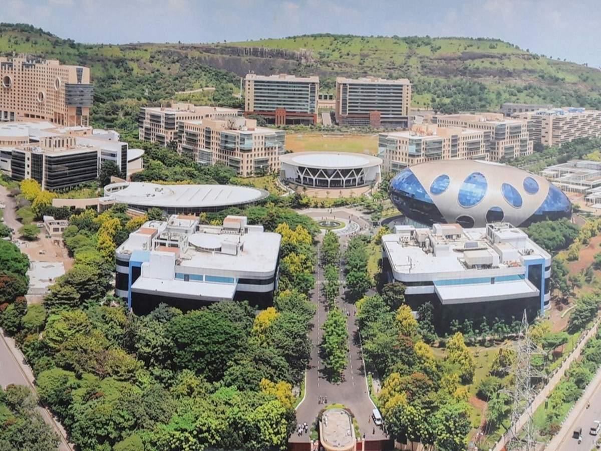 Infosys Pune Campus - This is how Infosys' Pune campus looks