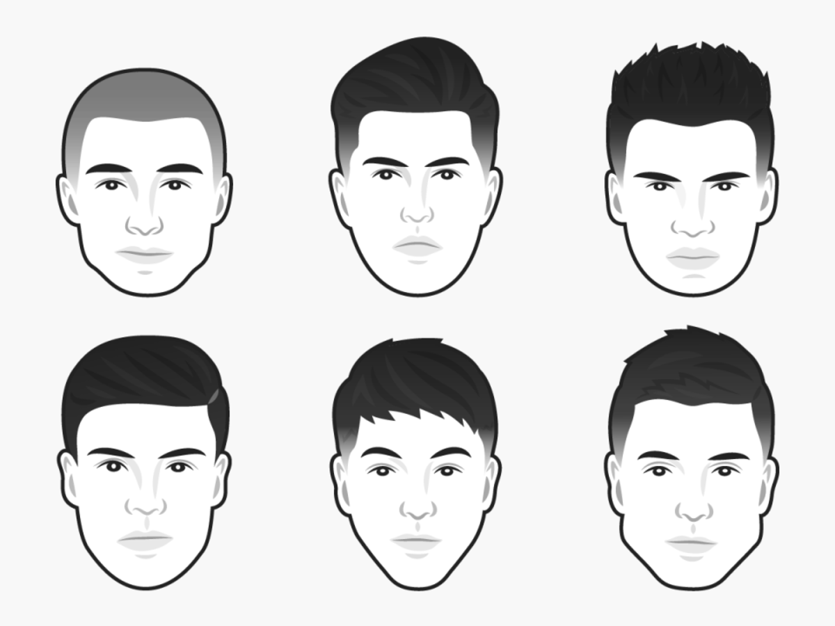 The Best Men S Haircut For Every Face Shape Business Insider India